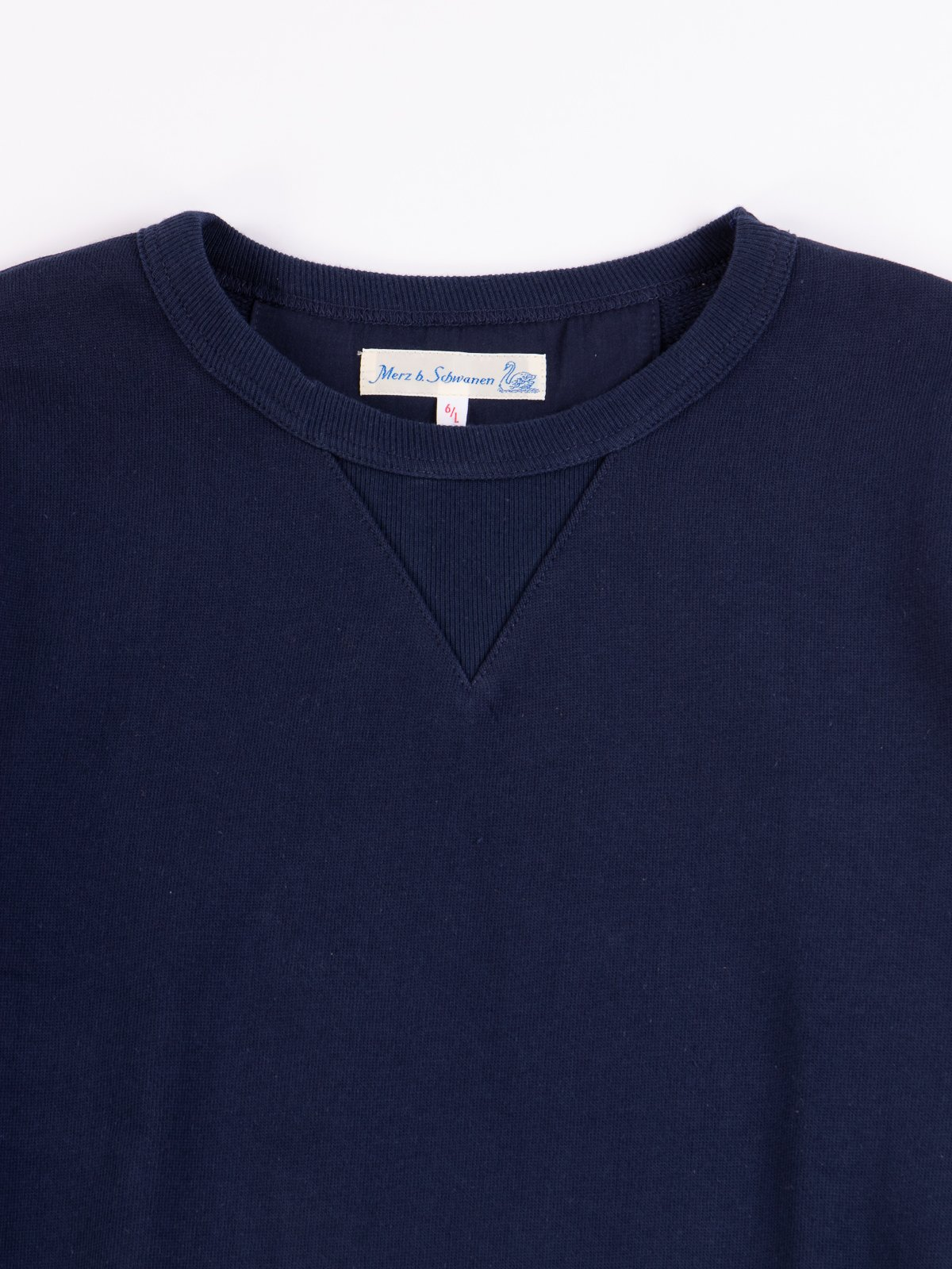 Ink Blue 3S48 Organic Cotton Heavy Sweater - Image 3