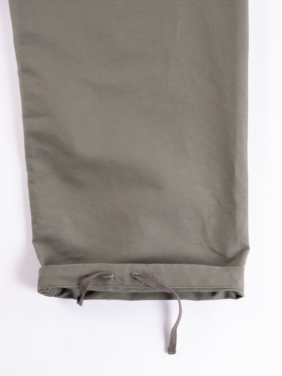 Olive Cotton Double Cloth Waders - Image 8
