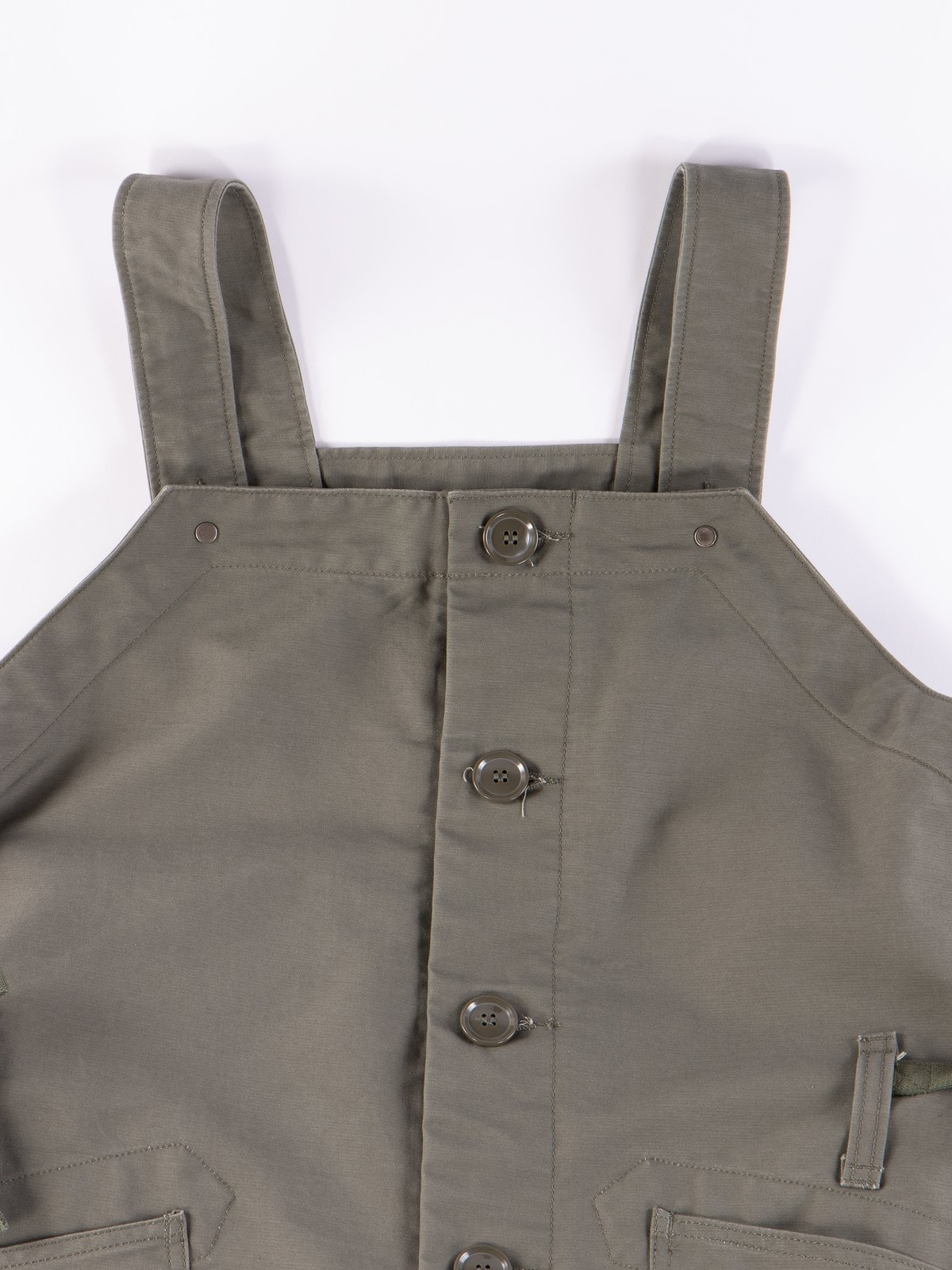 Olive Cotton Double Cloth Waders - Image 4