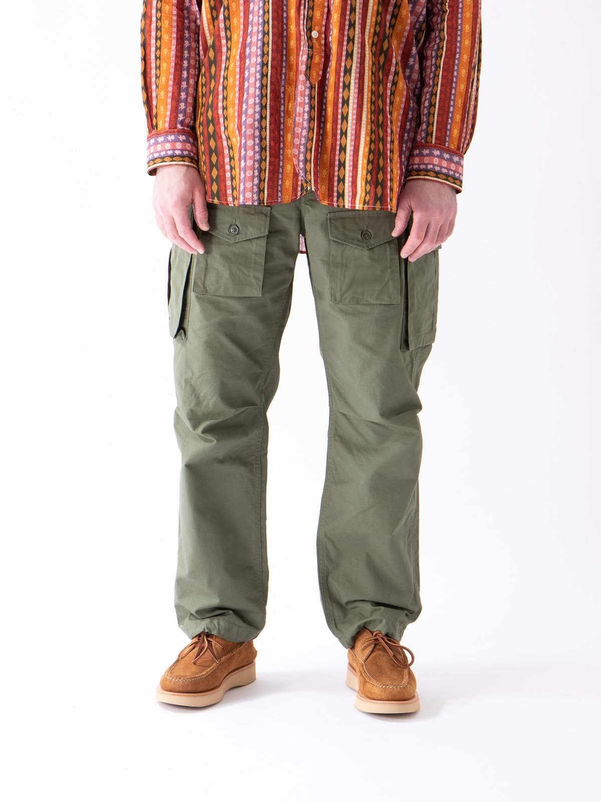 Olive Cotton Ripstop FA Pant - Image 2