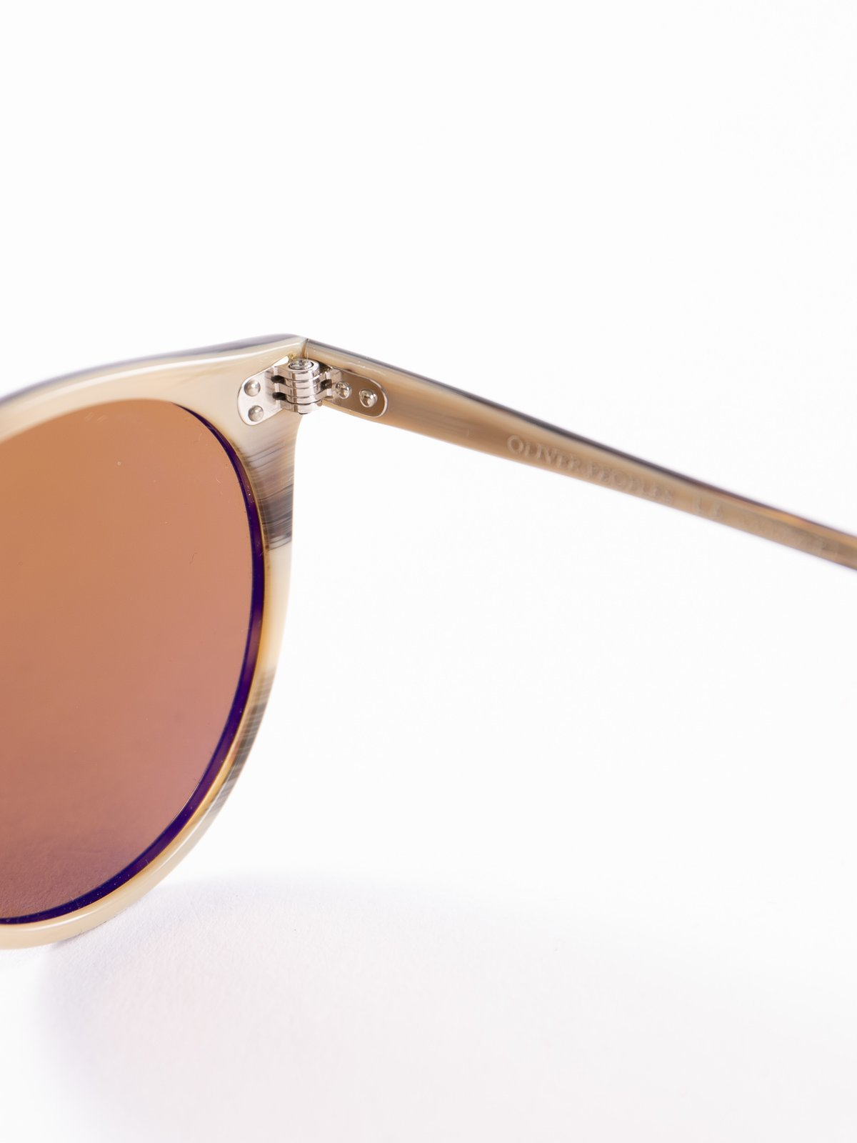 362–Horn/Brown O'Malley Sunglasses - Image 4