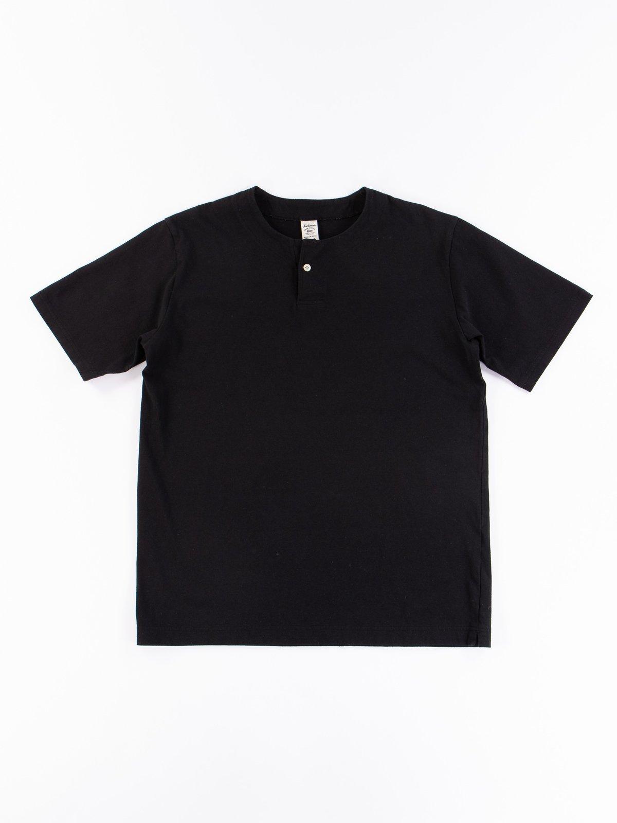 Black Henley T–Shirt - Image 1