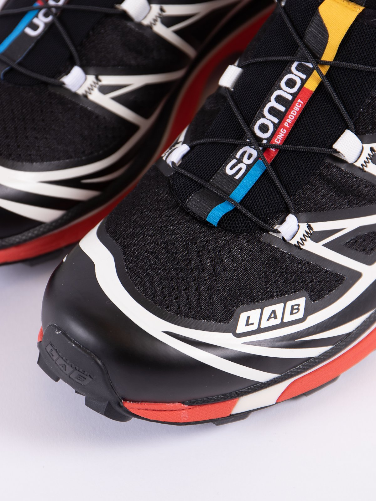 BLACK/VANILLA/RACING RED XT–6 SOFTGROUND LT ADV - Image 3