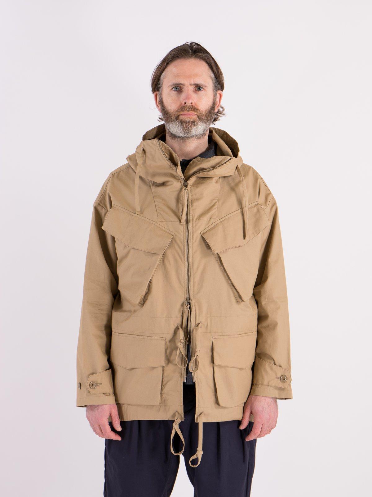 Khaki Oxford Vancloth Expedition Half Coat - Image 2
