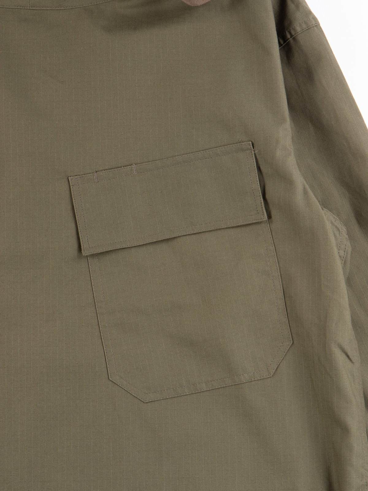 Olive Army Ripstop Salvage Parka - Image 4