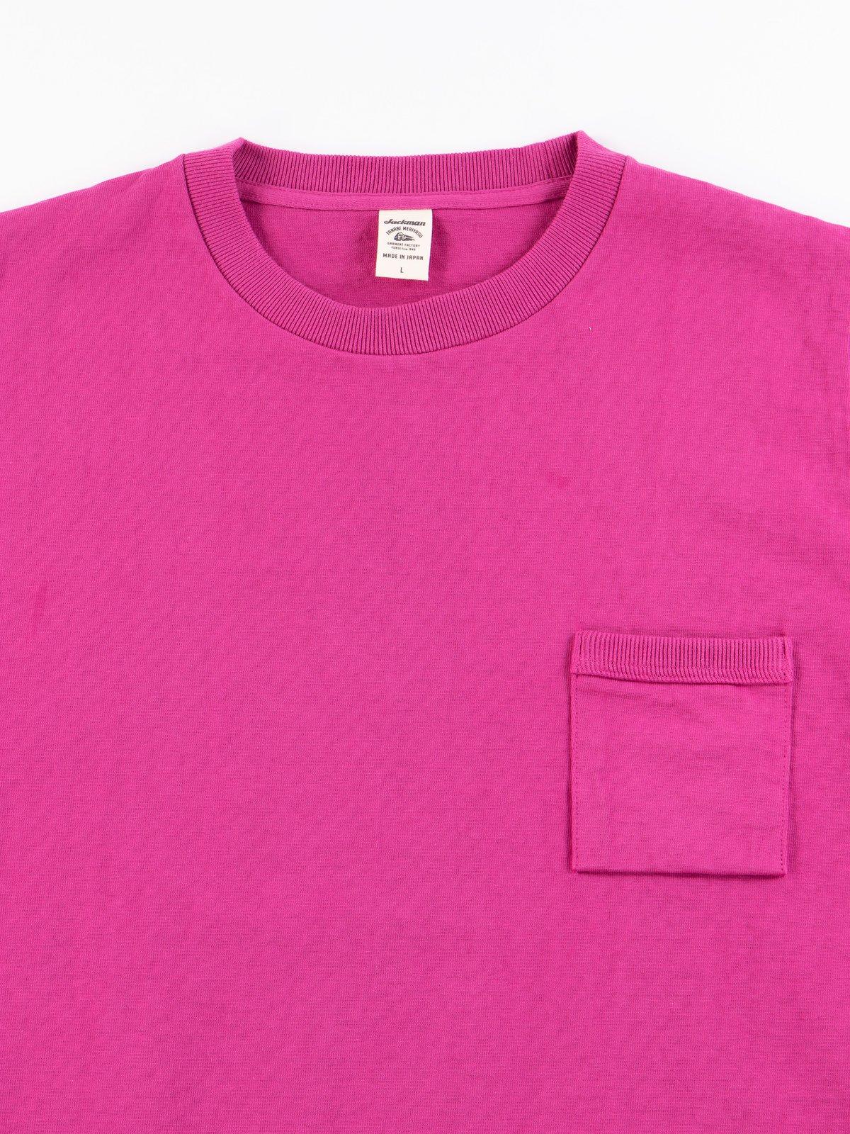 Ash Rose Dotsume Pocket T–Shirt - Image 3