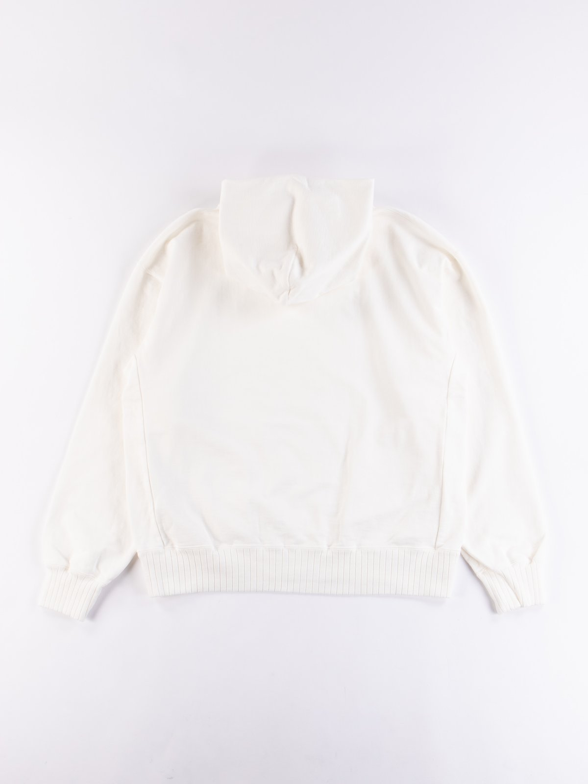 Off White High Density Sweat Pullover Parka - Image 5