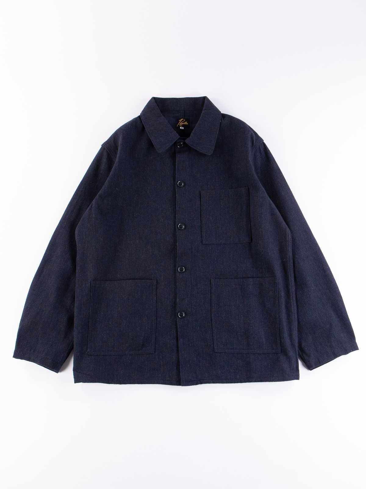 Navy Wool/Cotton Serge D.N Coverall - Image 1