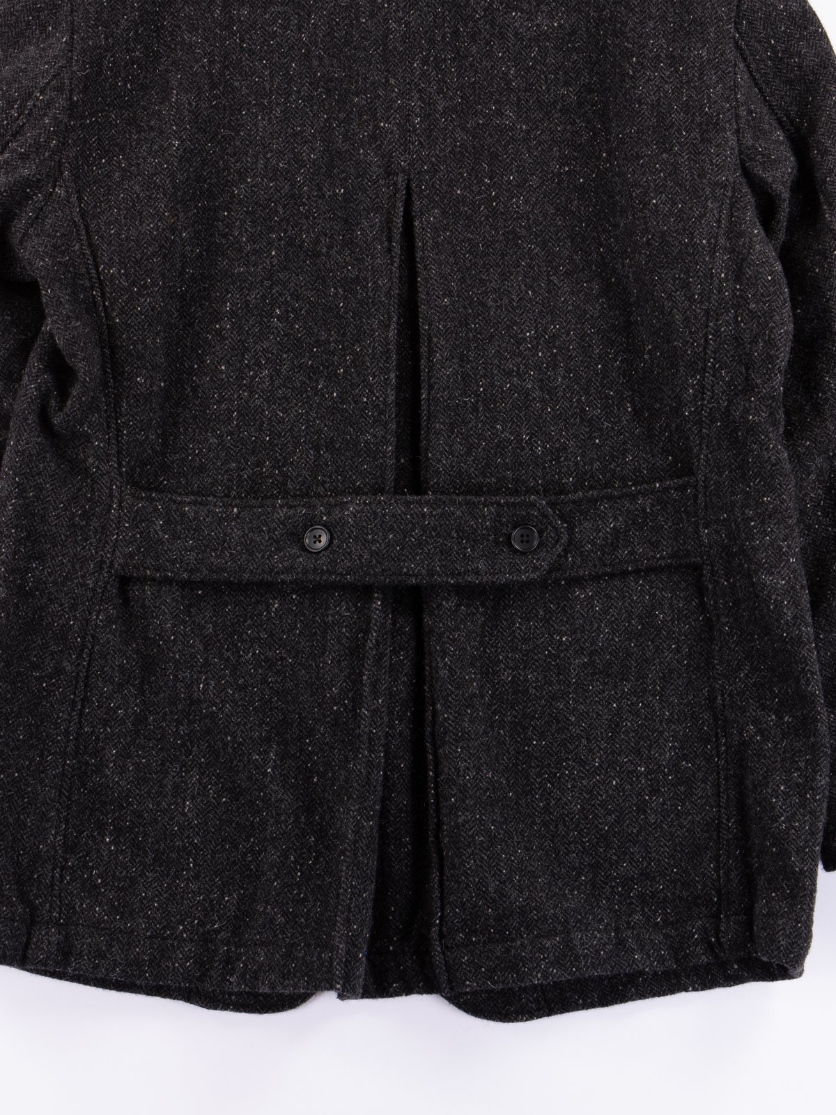 Charcoal HB Tweed Grim Jacket - Image 9