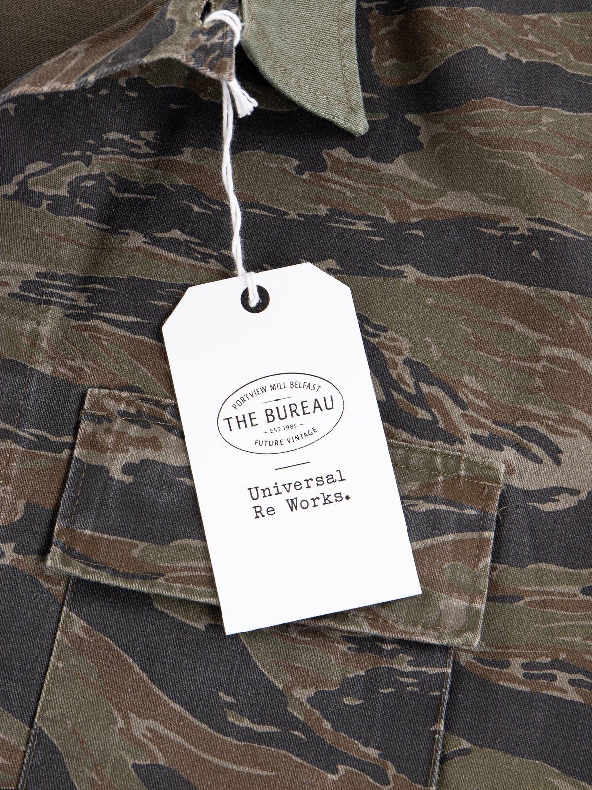 Reworks Camo/Olive Field Jacket - Image 9