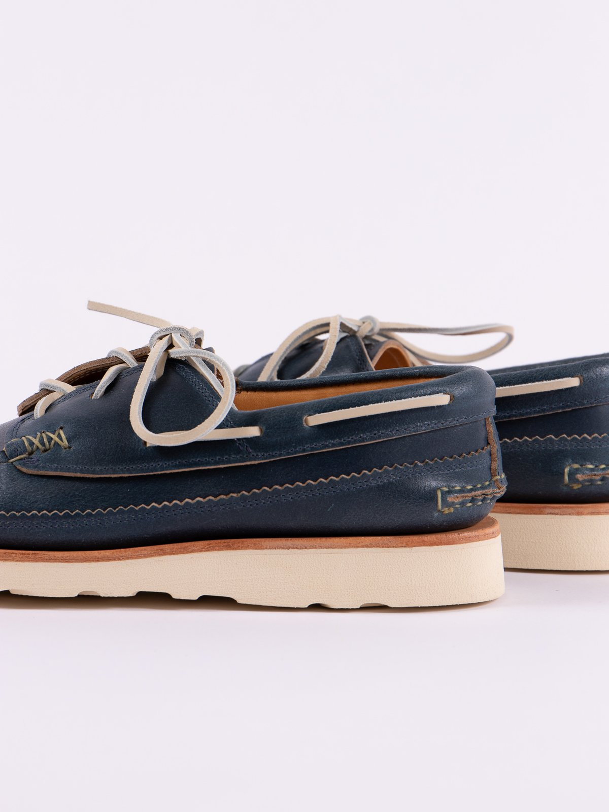 Wax Blue Boat Shoe Exclusive - Image 4