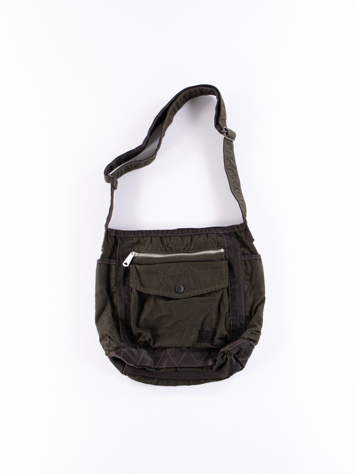Khaki Crag Shoulder Bag Small - Image 1