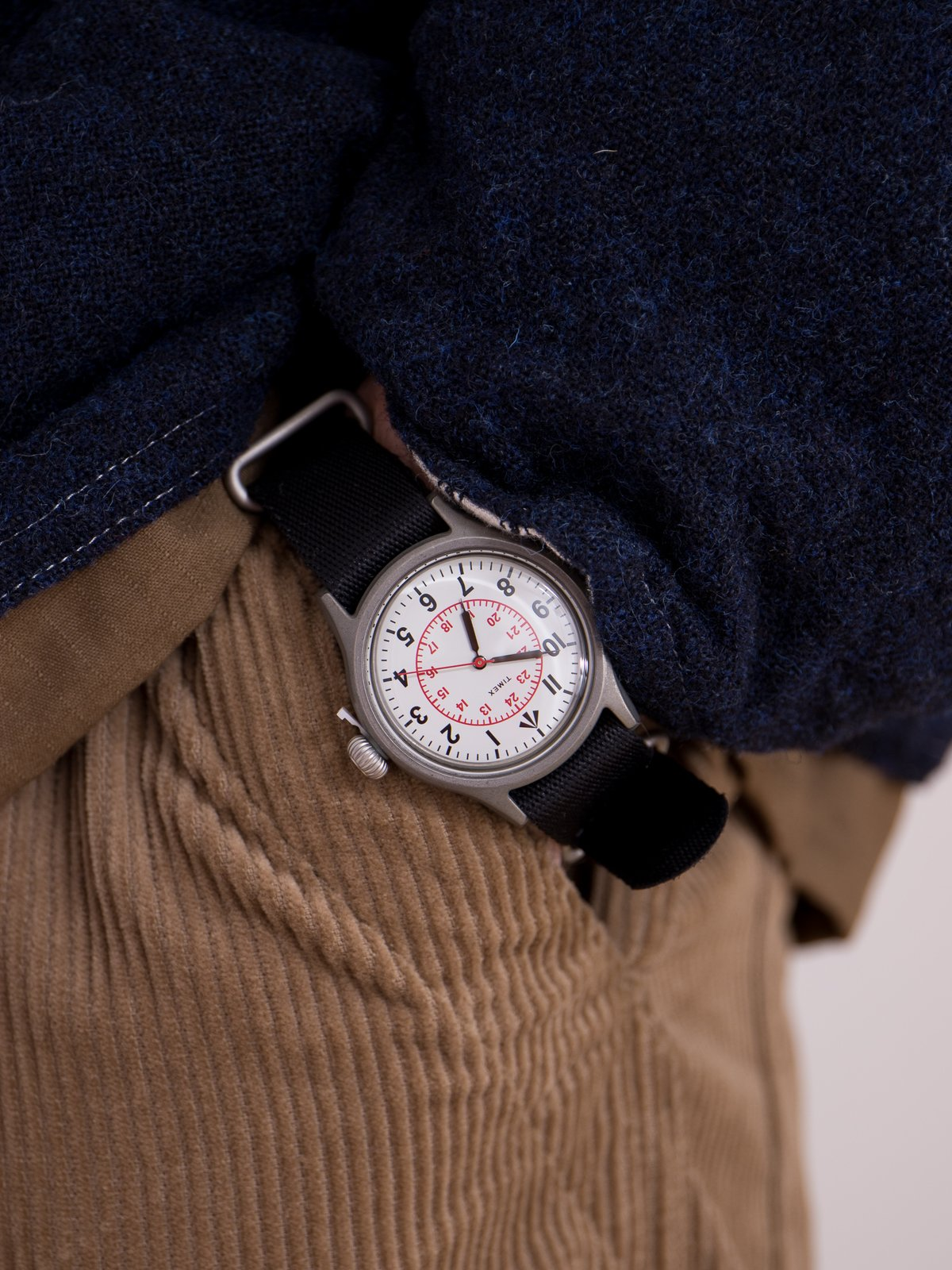 Cabourn x Timex Naval Officers Watch - Image 2