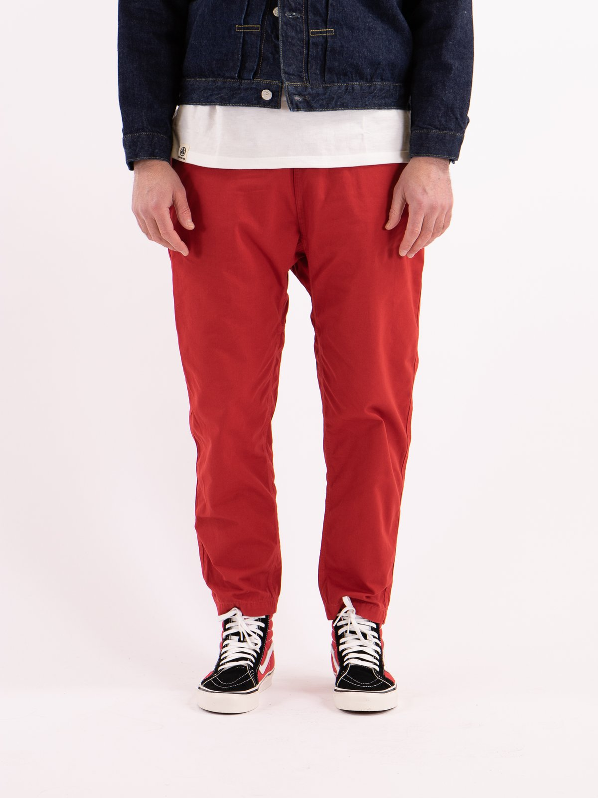 Red Overdyed Poplin Climbing Pant - Image 2