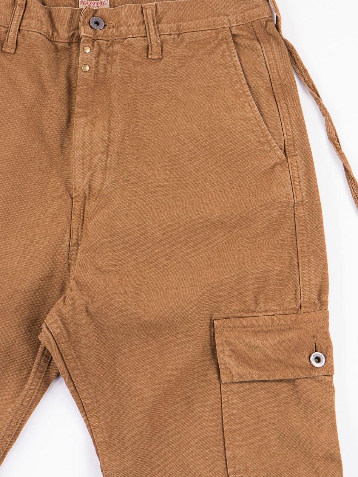 Gold Light Canvas Ringo Man Cargo Pant - Image 2