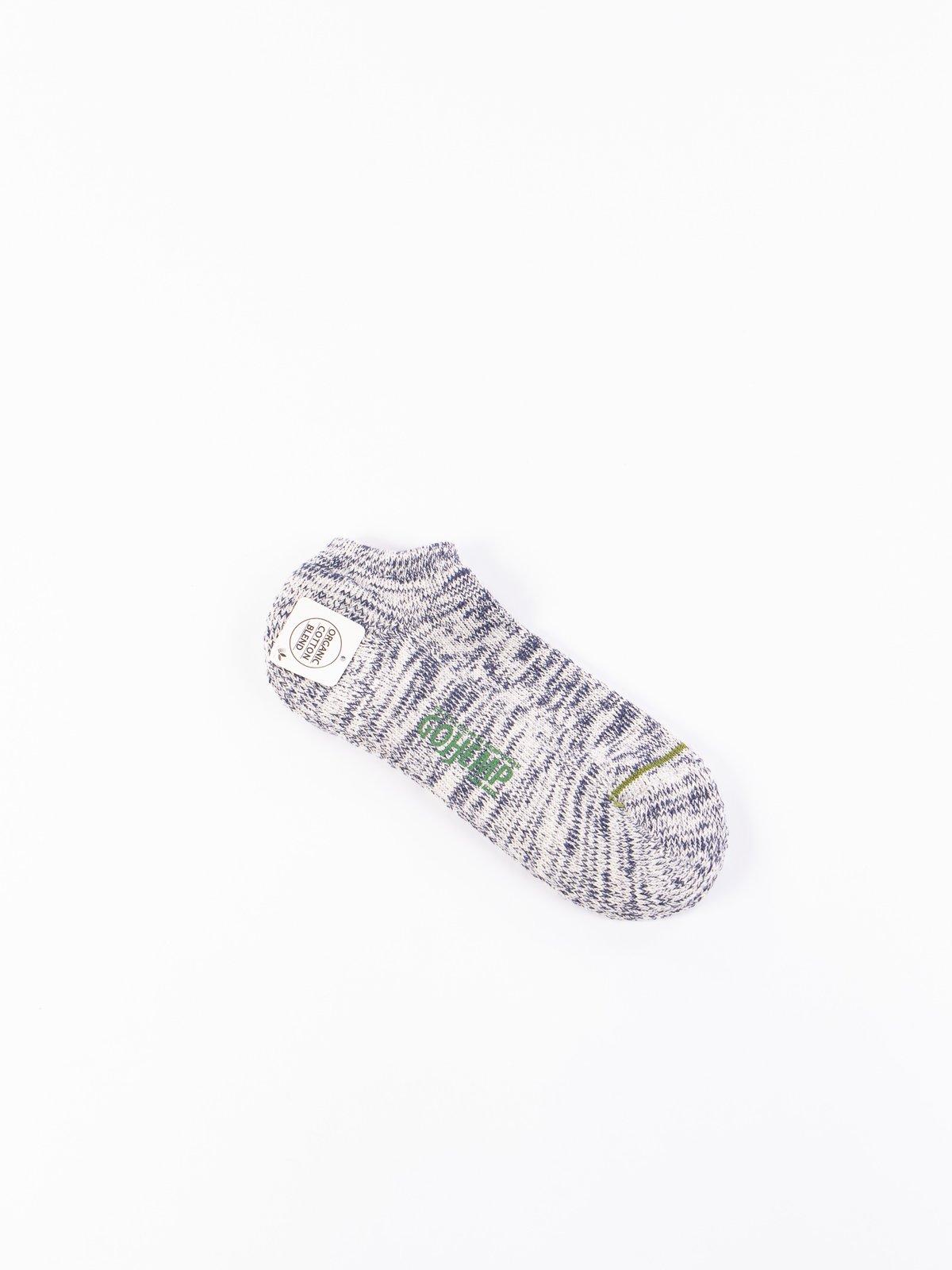 Blue Go Hemp OC Pile Ankle Socks - Image 1
