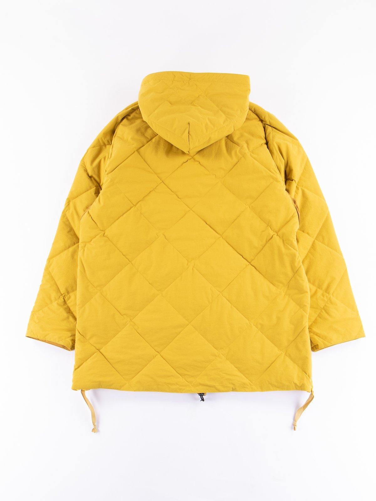 Mustard Flex Down Hoodie - Image 5