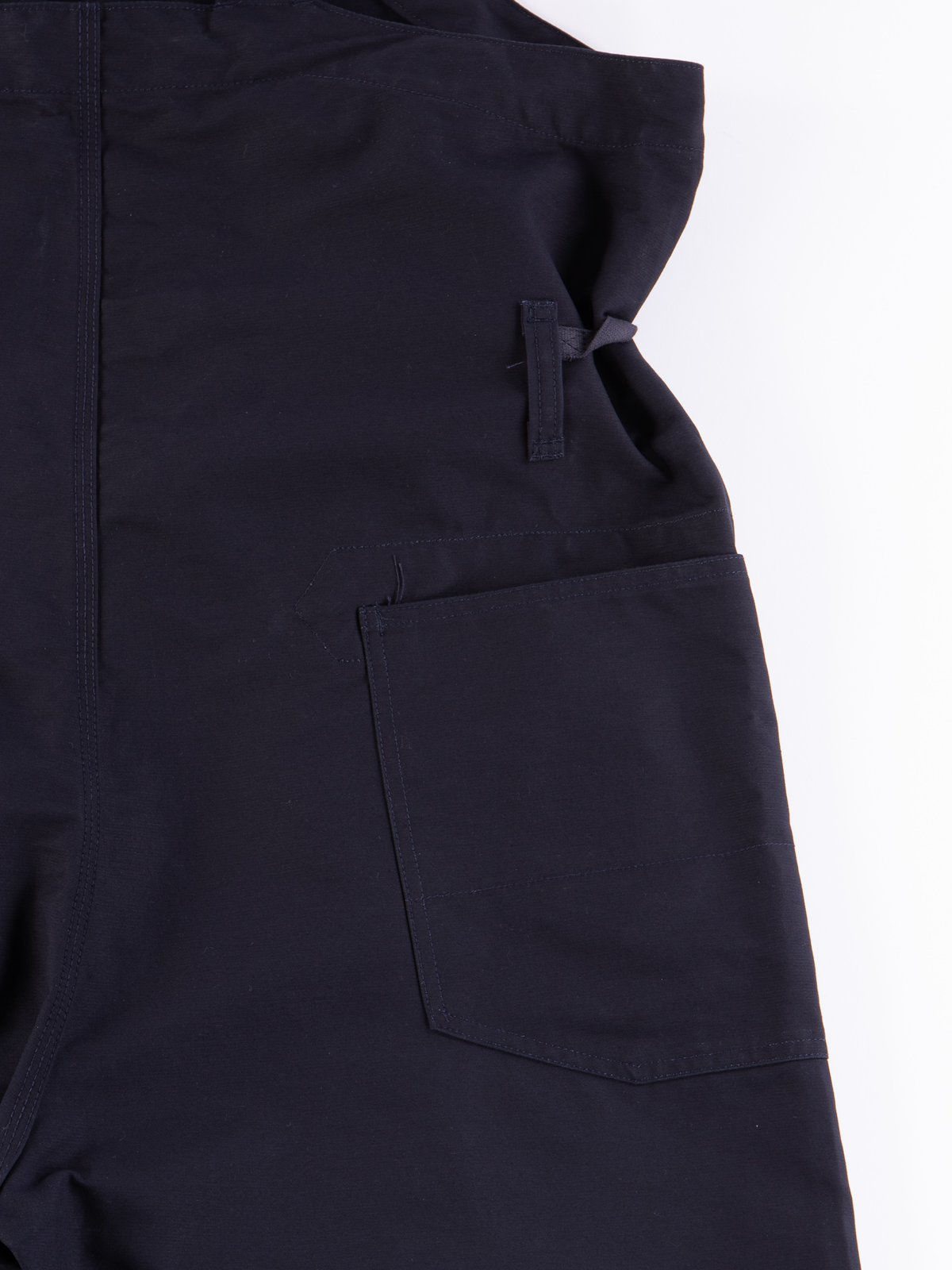 Navy Cotton Double Cloth Waders - Image 8