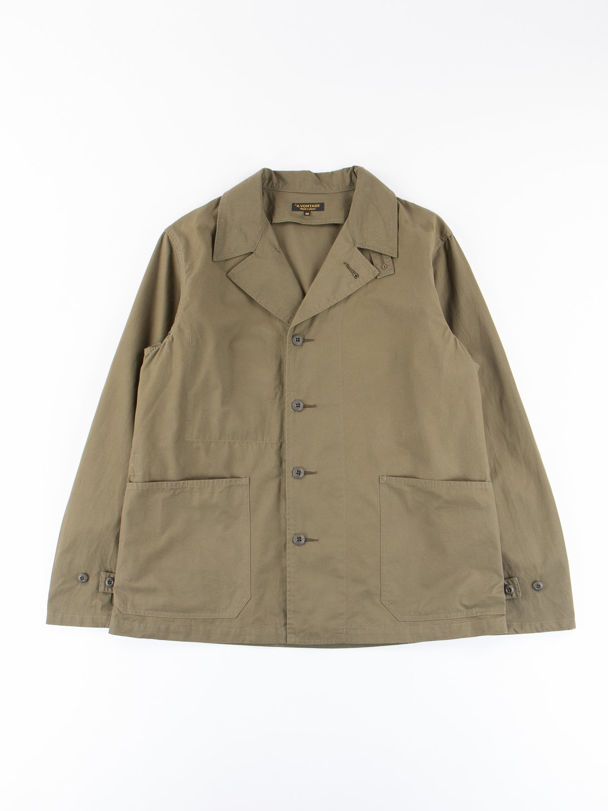 Olive Utility Coverall Jacket - Image 1