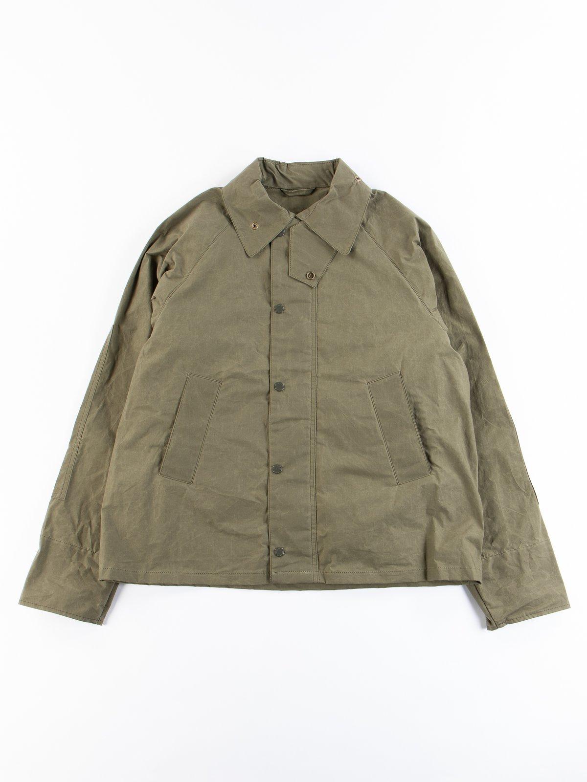 Olive Unlined Graham Jacket - Image 1