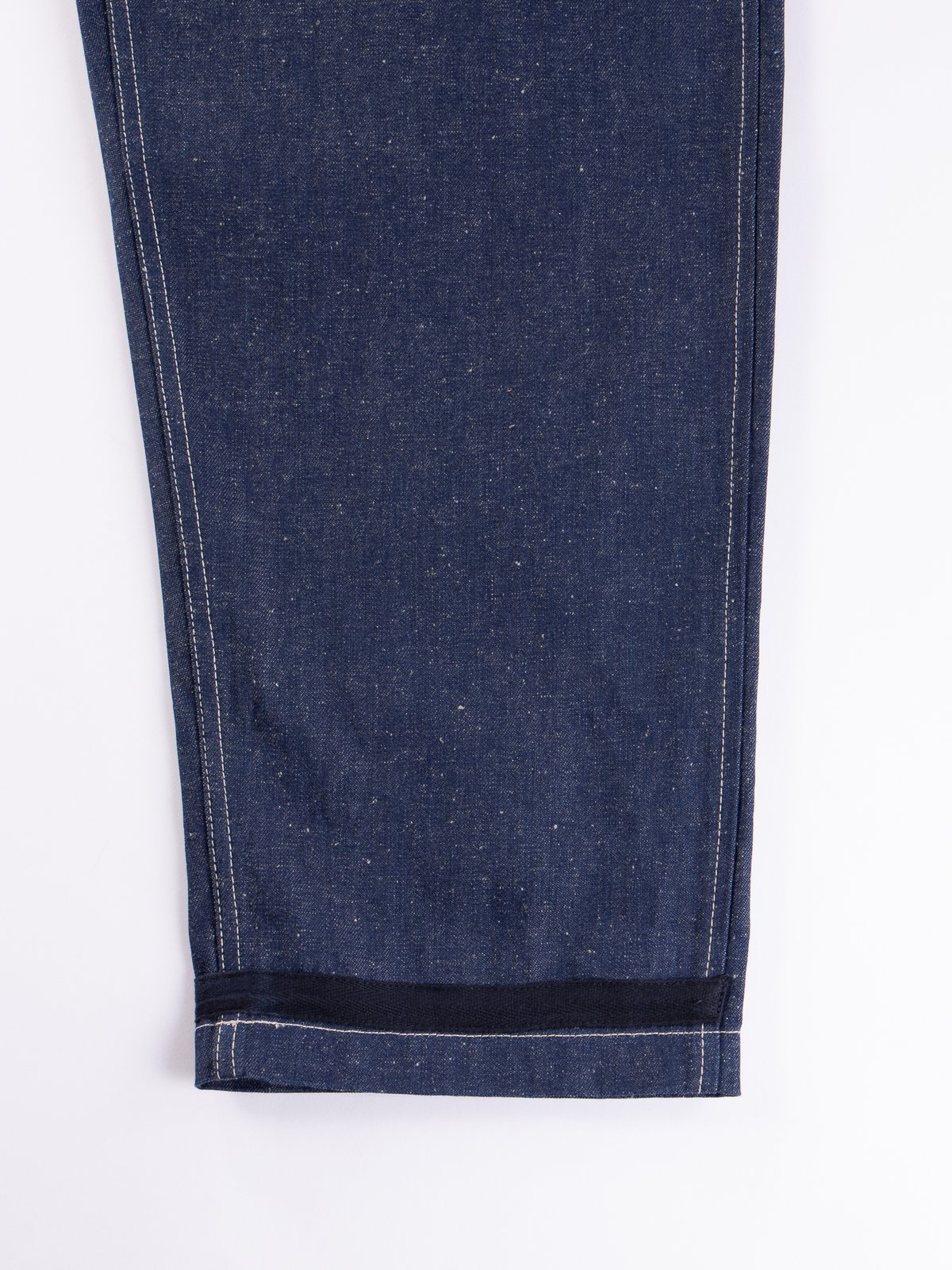 Lybro Split Denim/Navy Sateen Naval Dungaree - Image 4