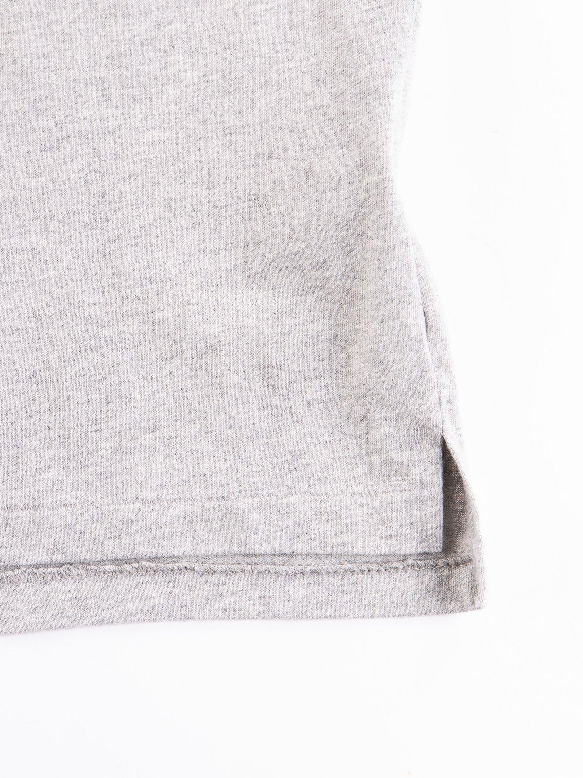 Grey Balance Printed Cross Crew Neck T–Shirt - Image 4