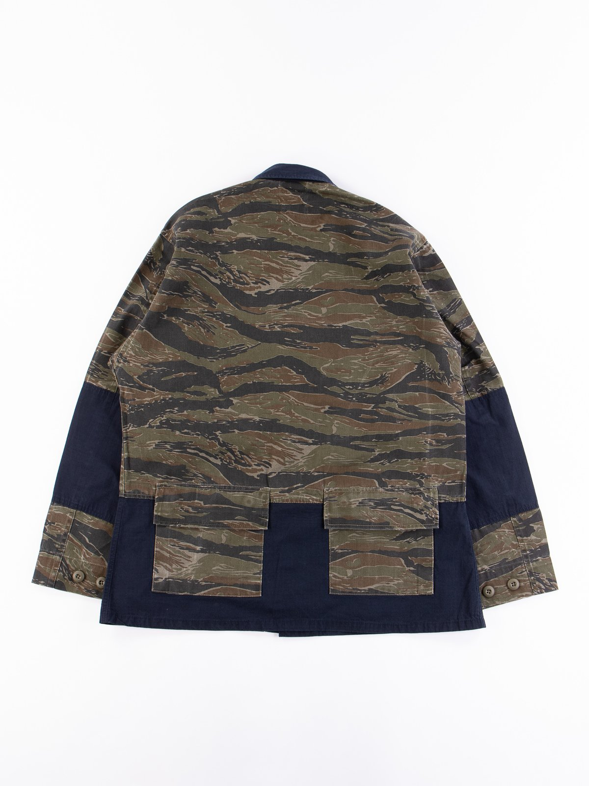 Reworks Camo/Navy Field Jacket - Image 6