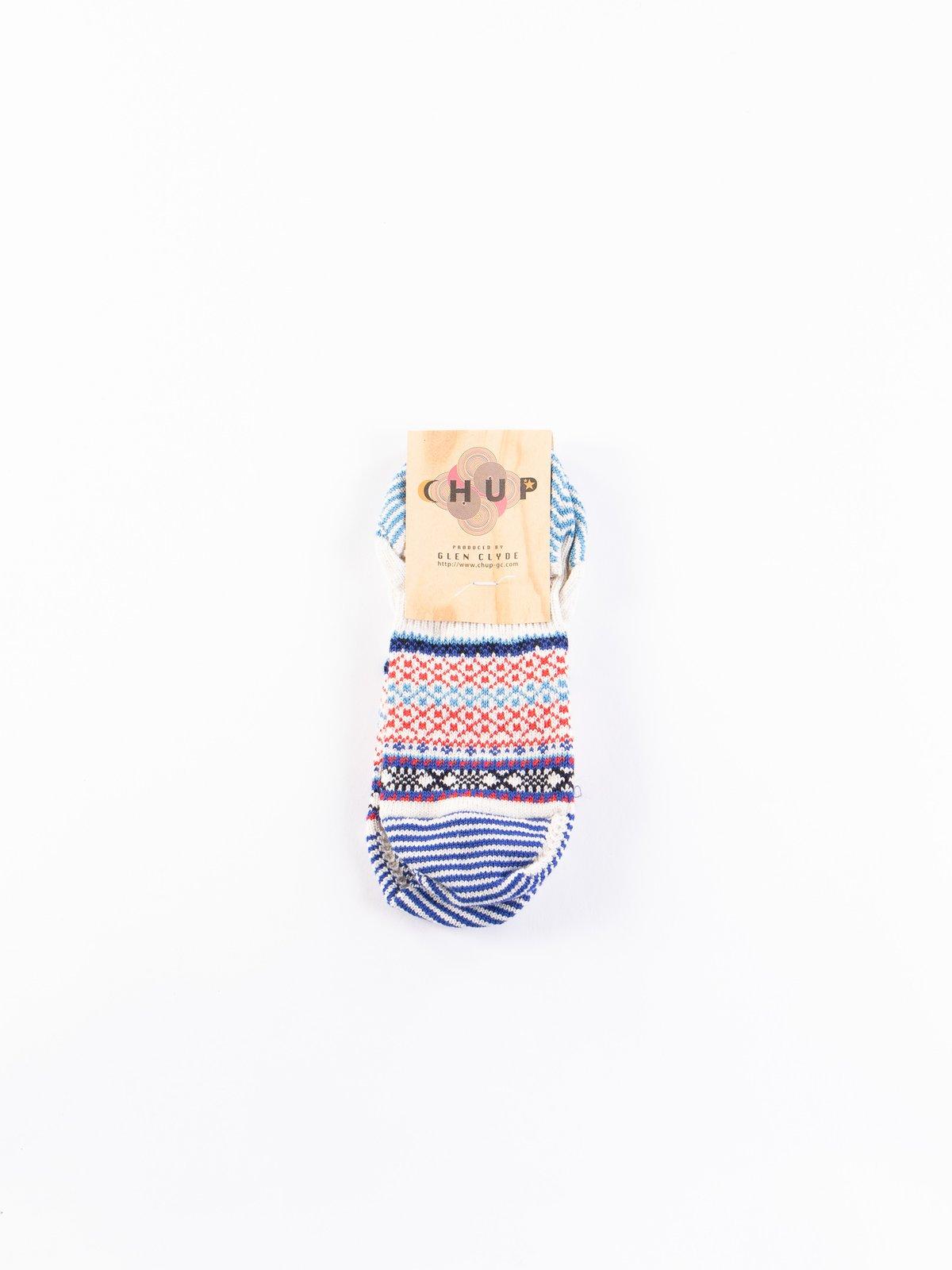 Oatmeal Jonsok Trainer Socks - Image 1
