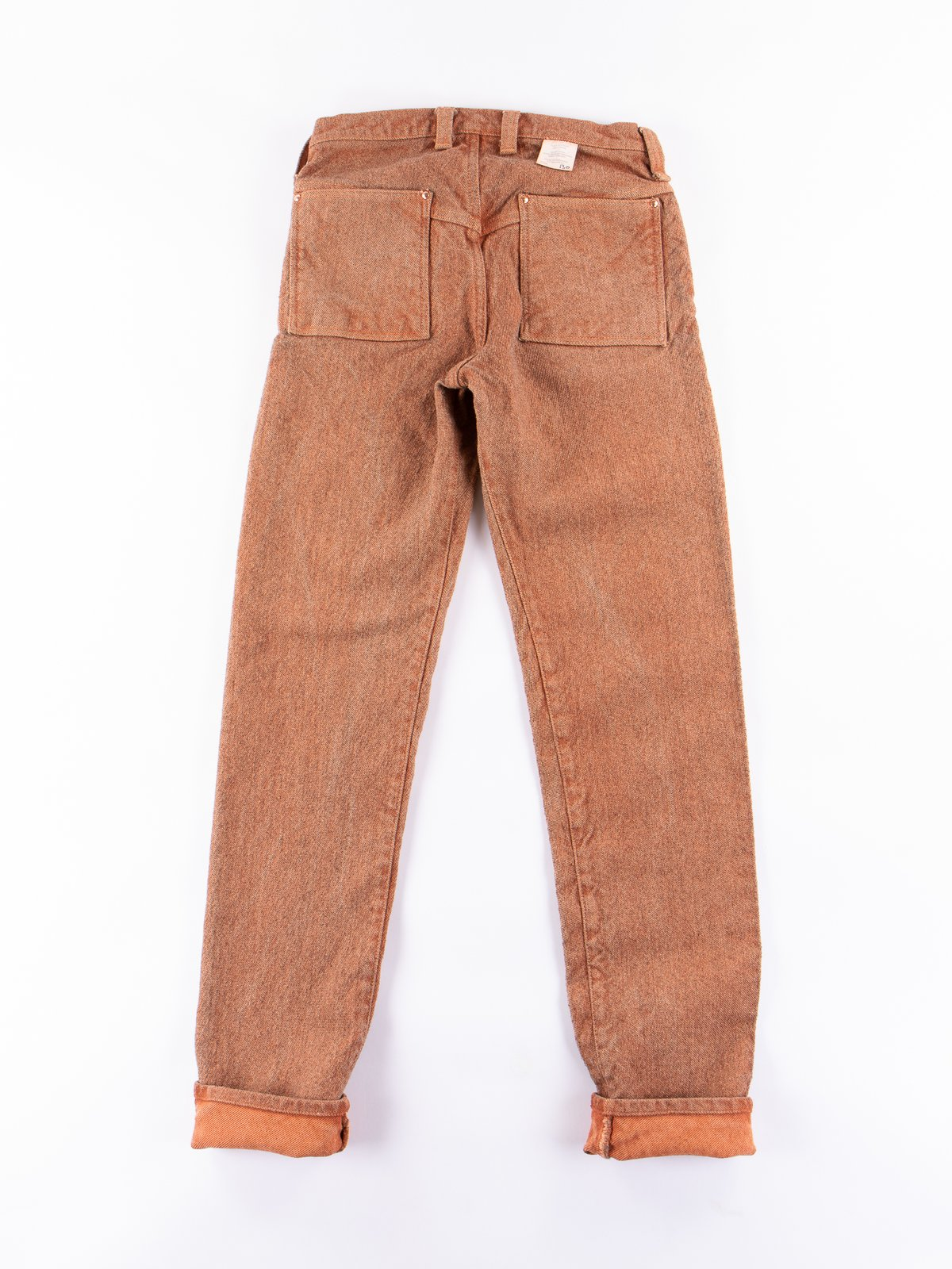 Red Ochre Dye Tapered Jean - Image 7