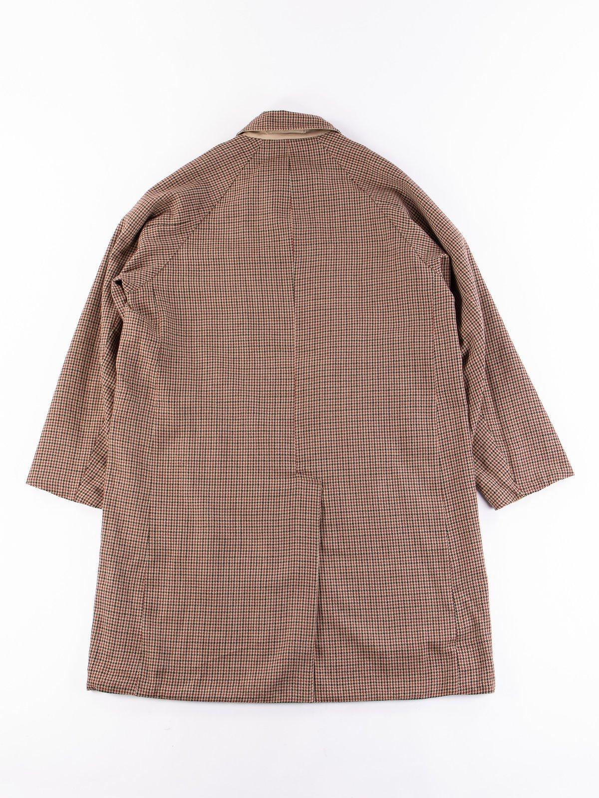 Light Khaki/Gunclub Reversible Balmacaan Coat - Image 10