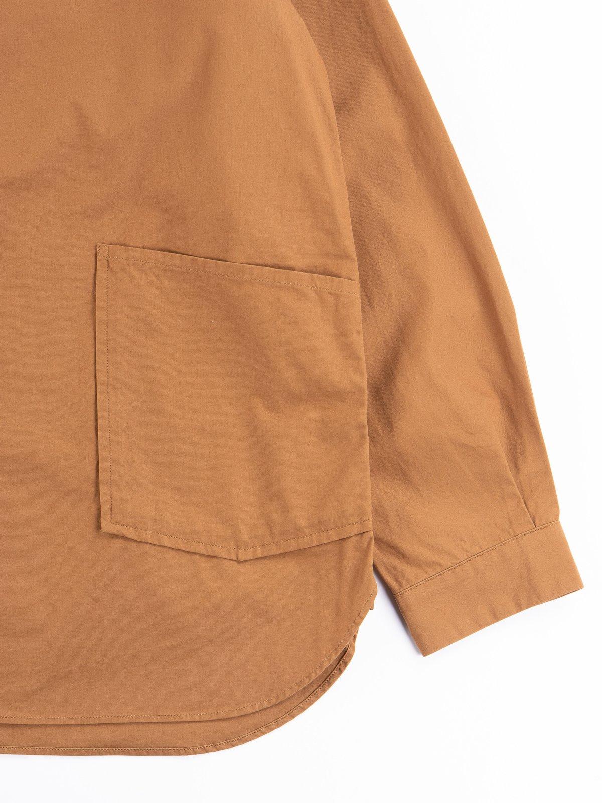 Tan Gardener Oxford Shirt Jacket - Image 4