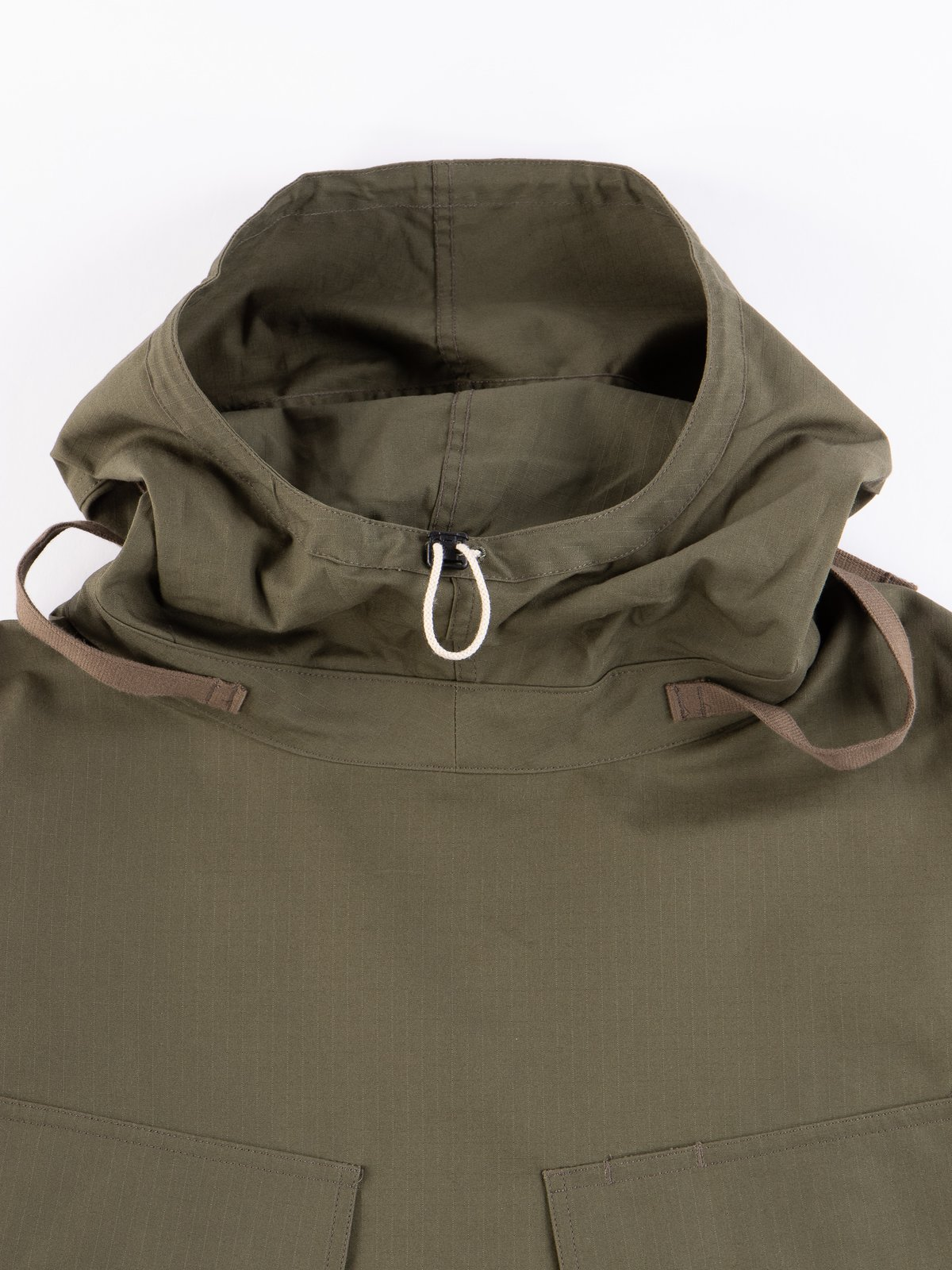Olive Army Ripstop Salvage Parka - Image 3