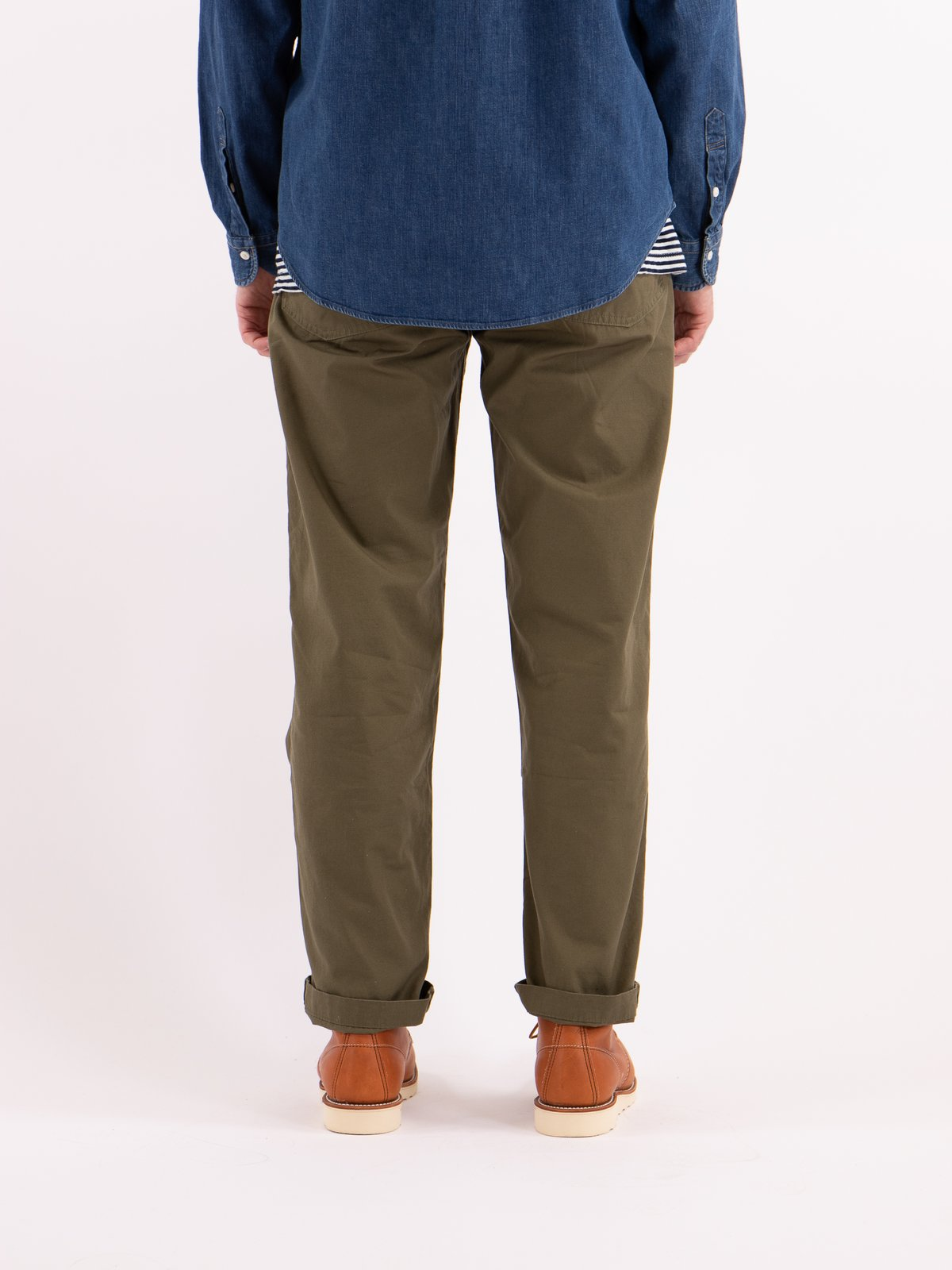 Army Green Ripstop Regular Fit US Army Fatigue Pant - Image 4