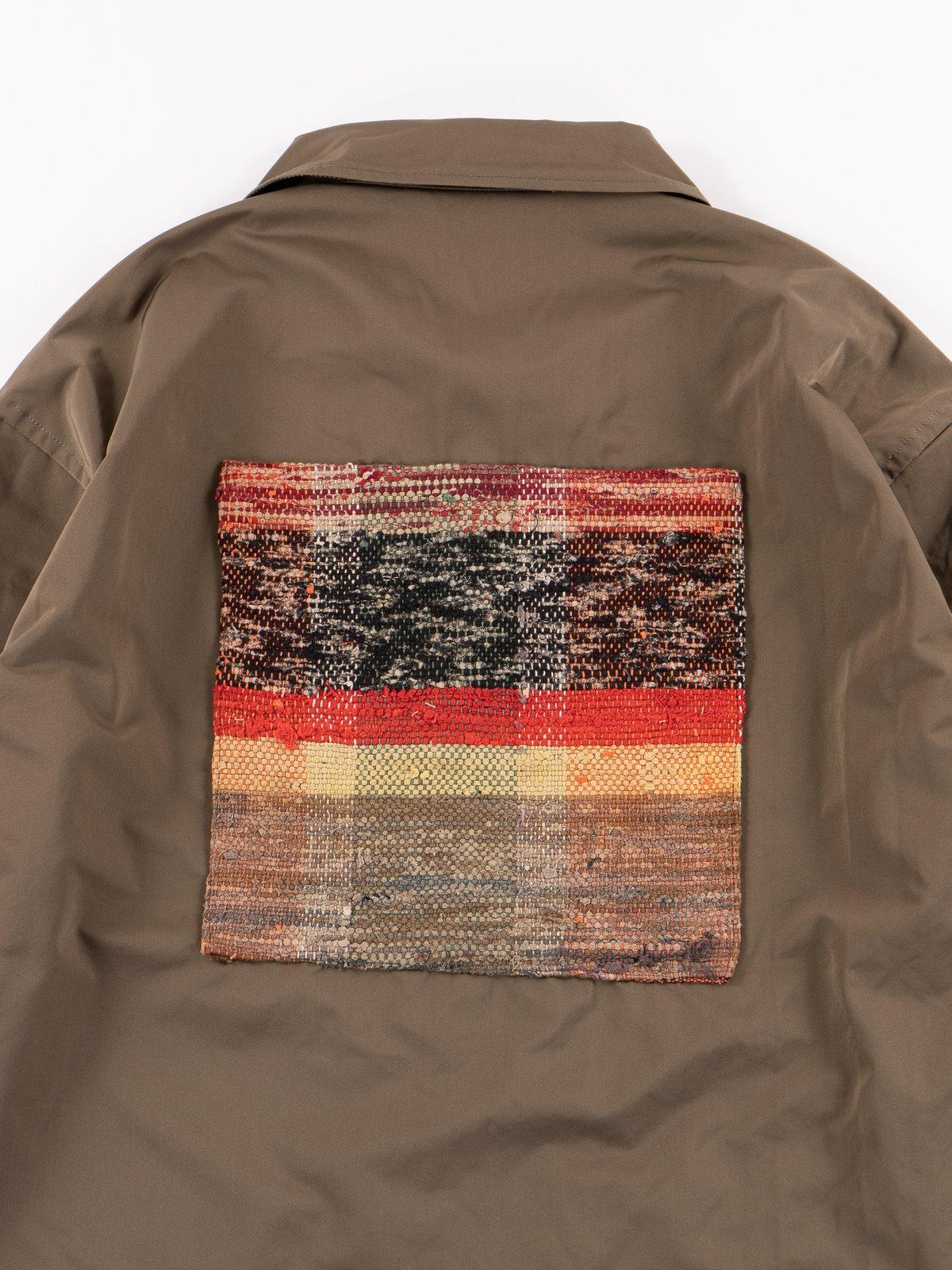 Khaki Coach Jacket - Image 7