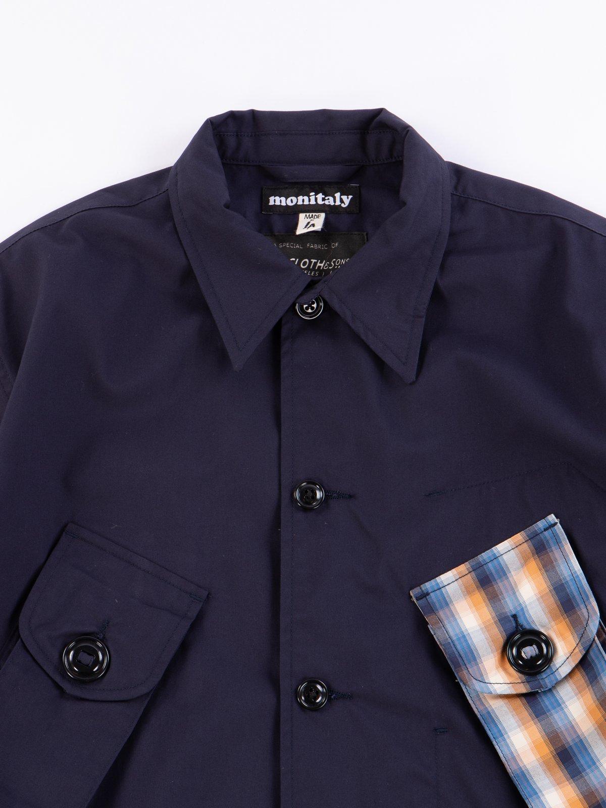 Navy Vancloth Oxford Military Half Coat Type B Exclusive - Image 3