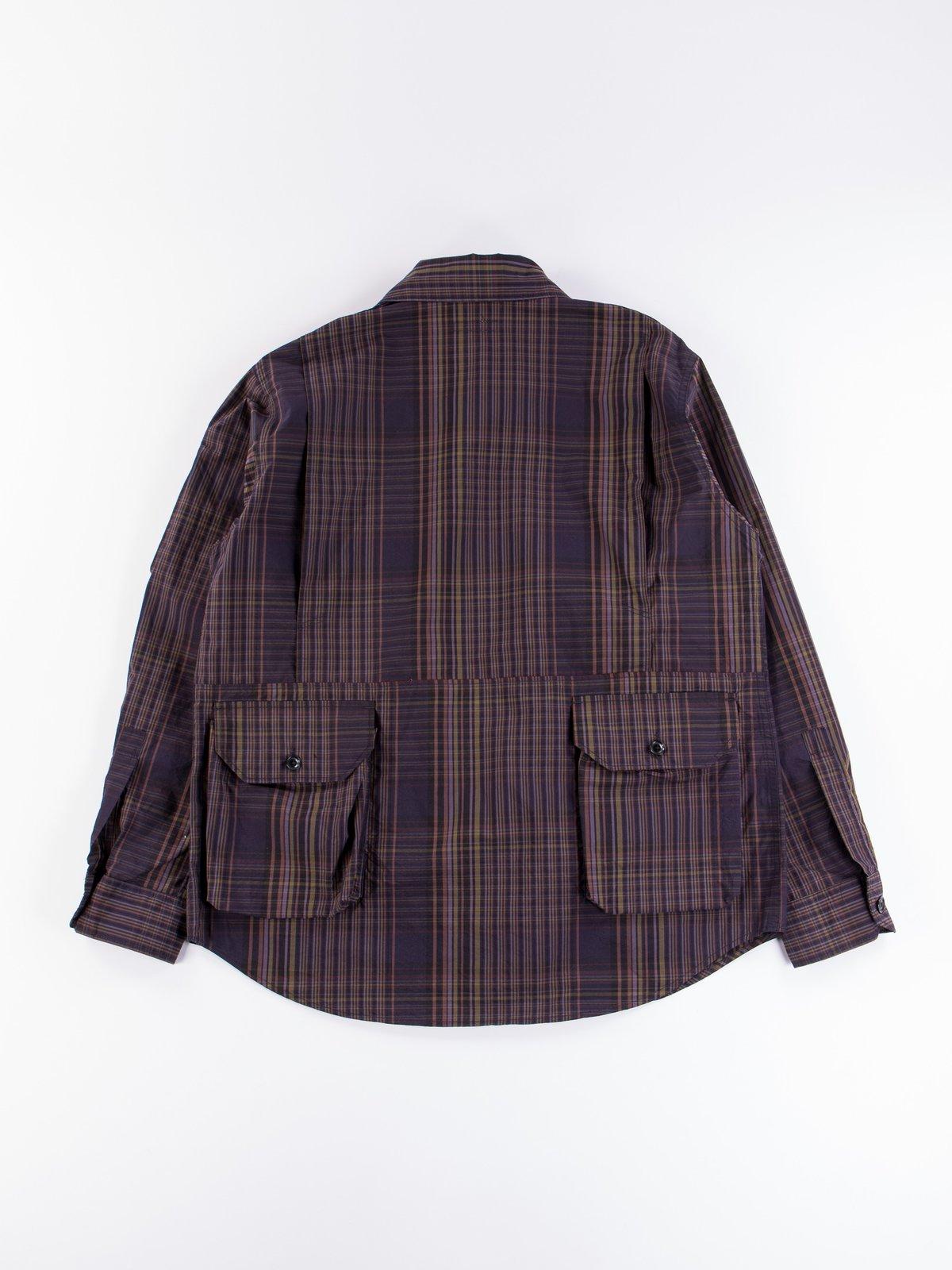 Multi Color Nyco Plaid Explorer Shirt Jacket - Image 6