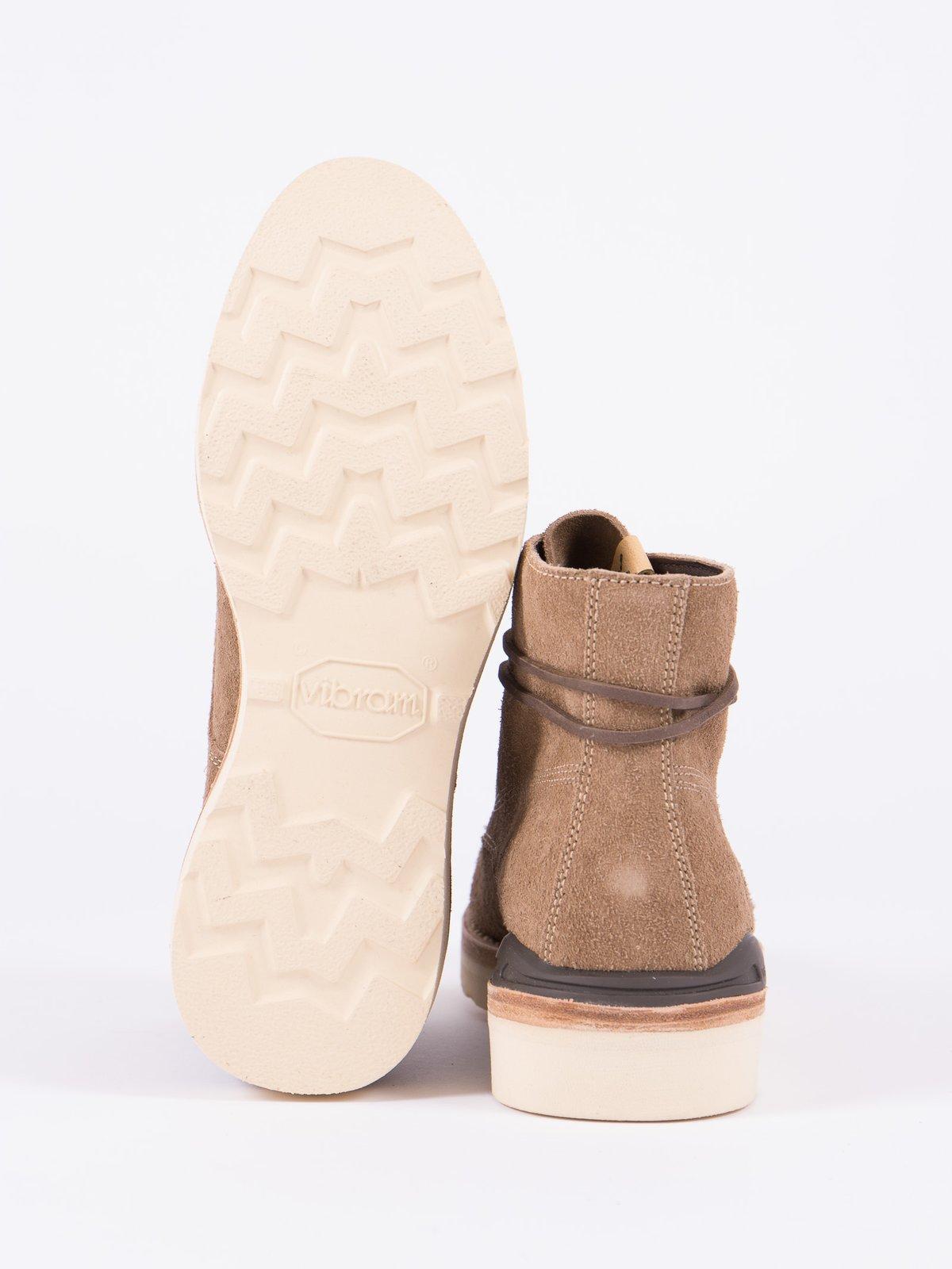 Sand Veg Suede Virgil Boots–Folk - Image 4