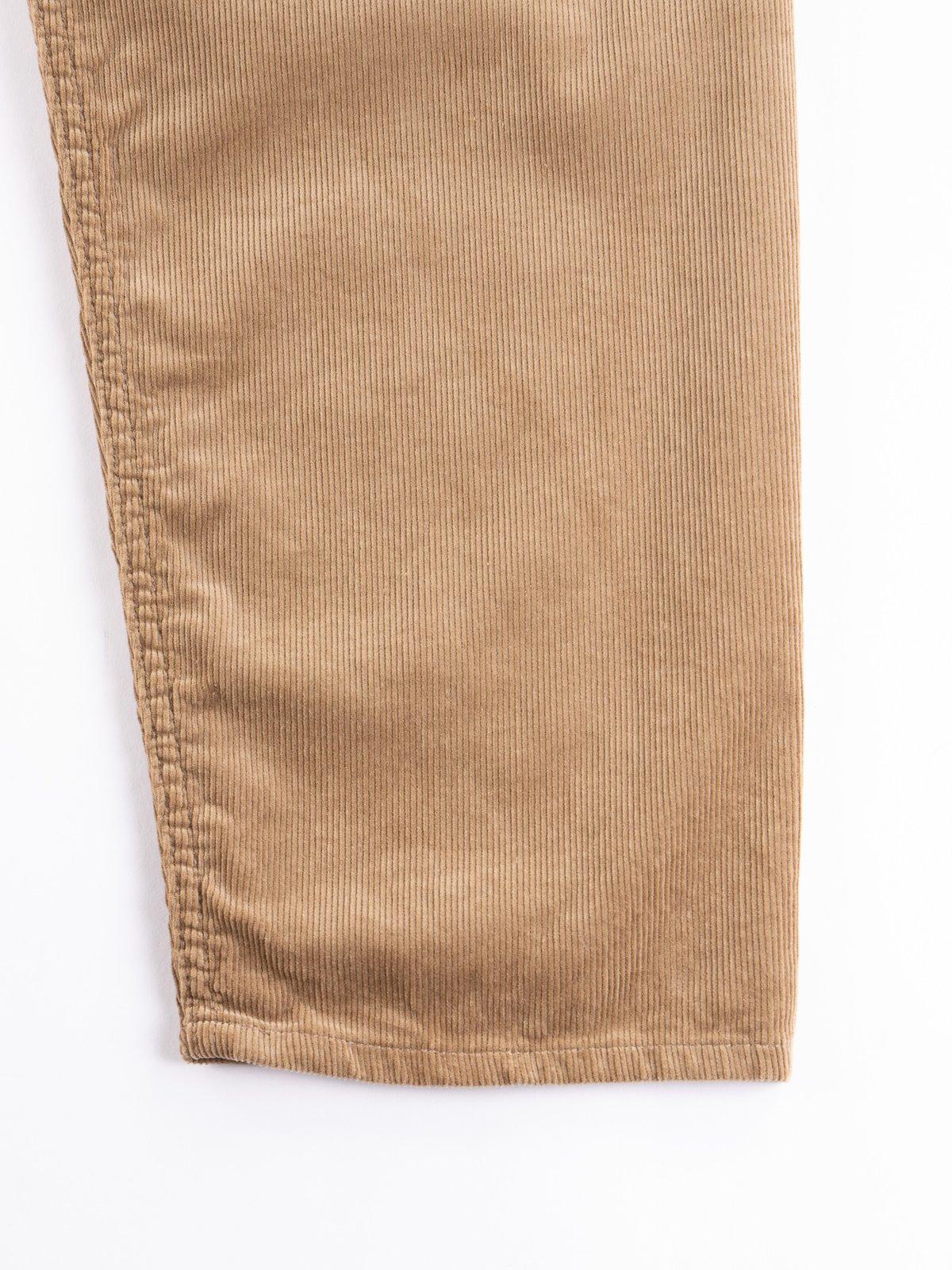 Khaki 14W Corduroy Wide Peg Jean - Image 4