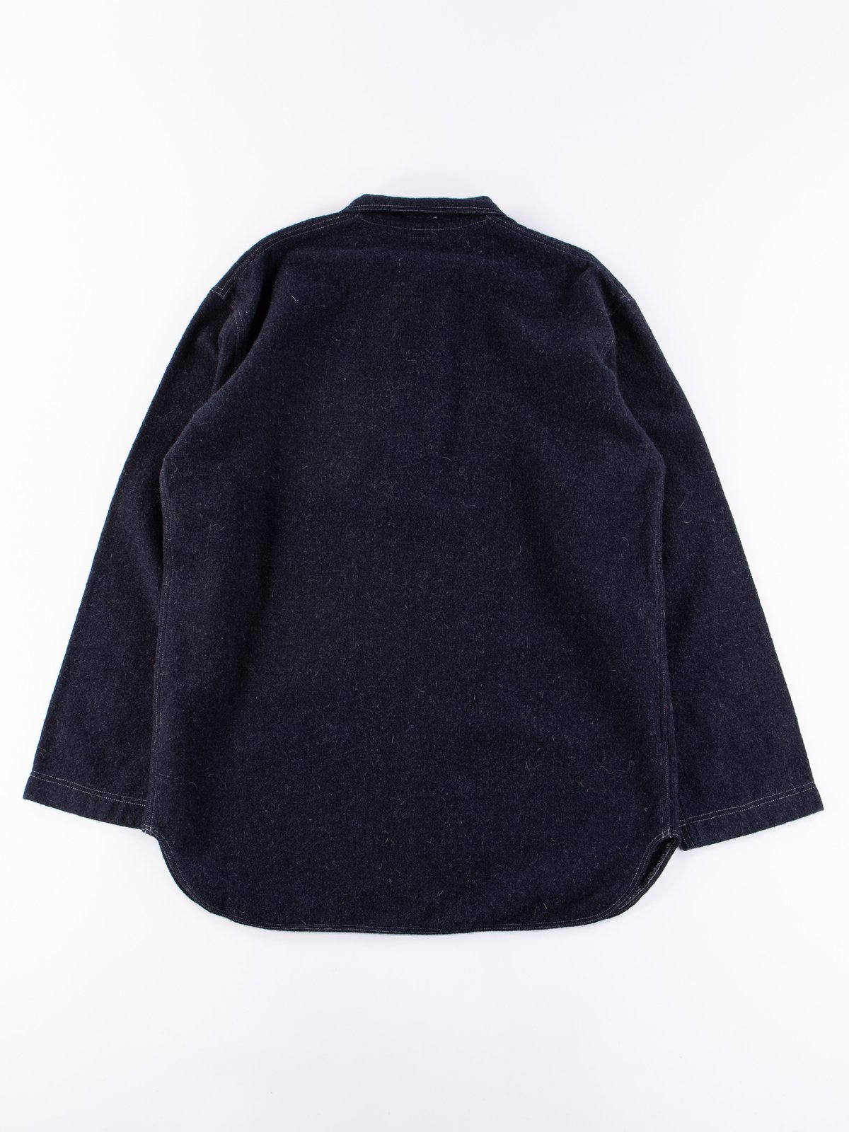 Navy Weavers Stock Pullover Tail Shirt - Image 5