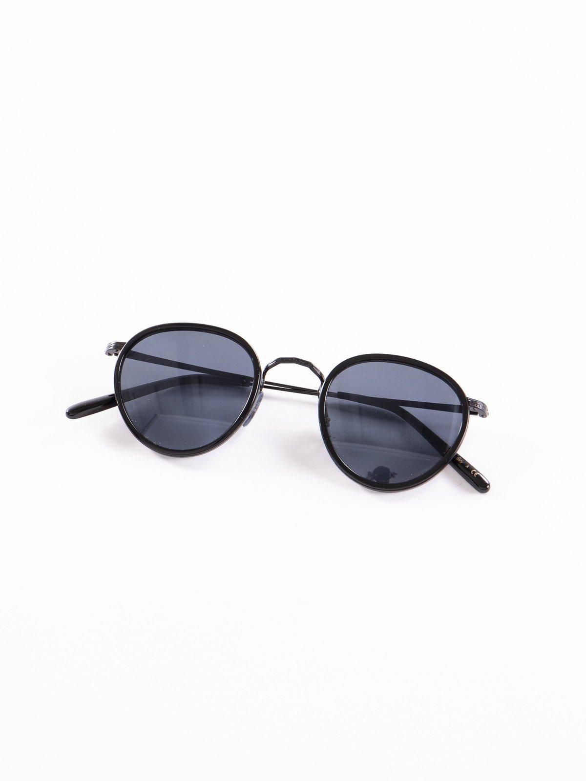 Black–Matte Black/Blue MP–2 Sunglasses - Image 1