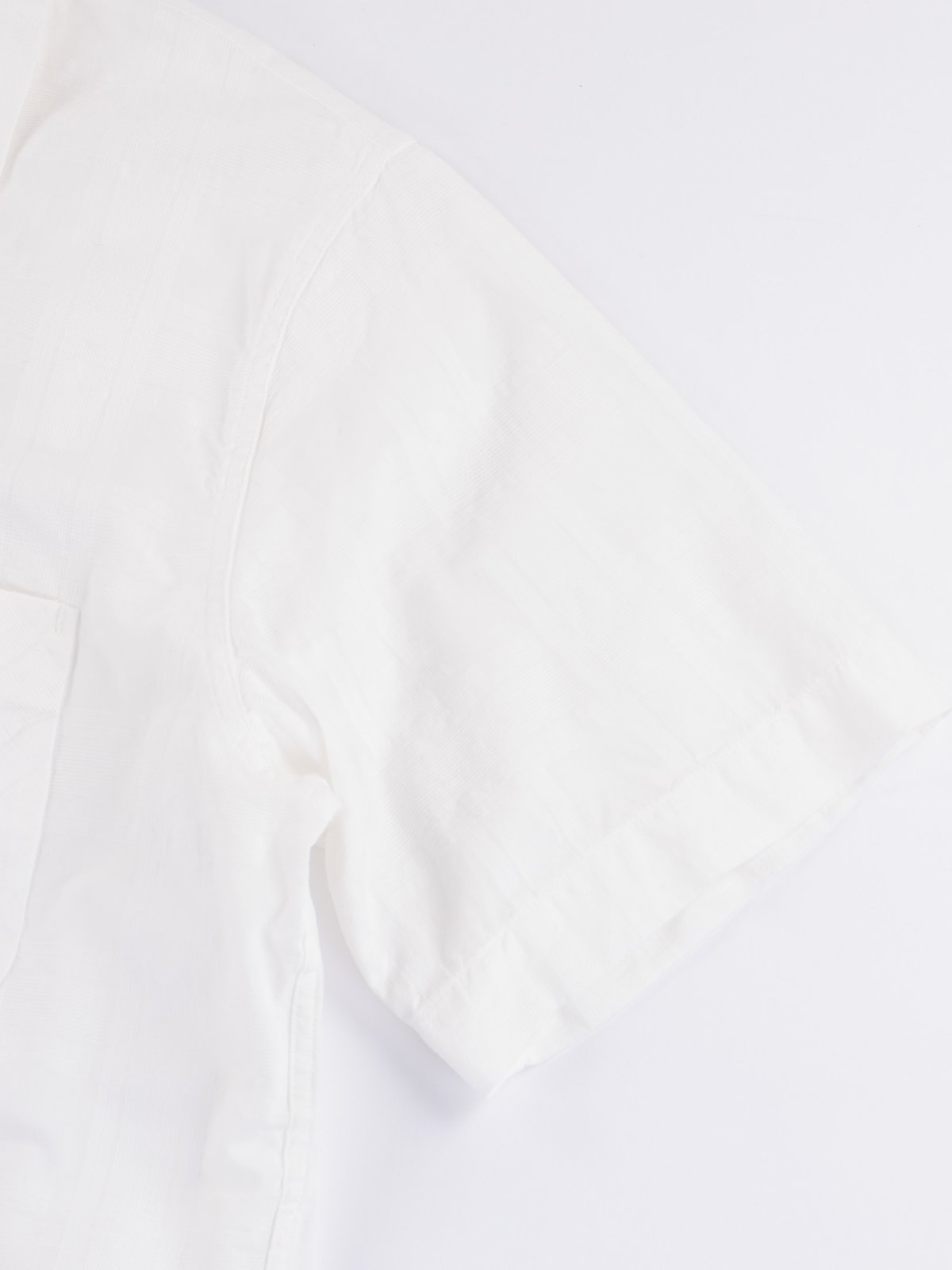 White Open SS Shirt - Image 3