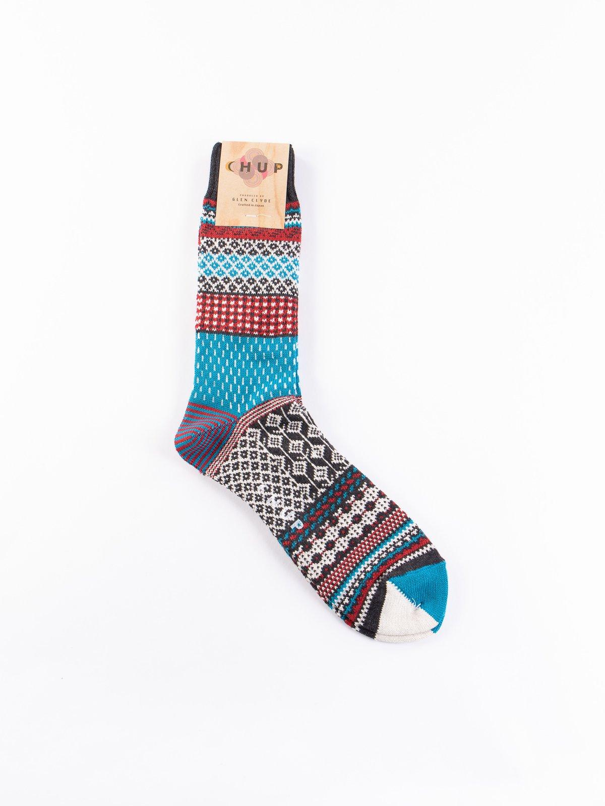 Charcoal Tallinn Socks - Image 1