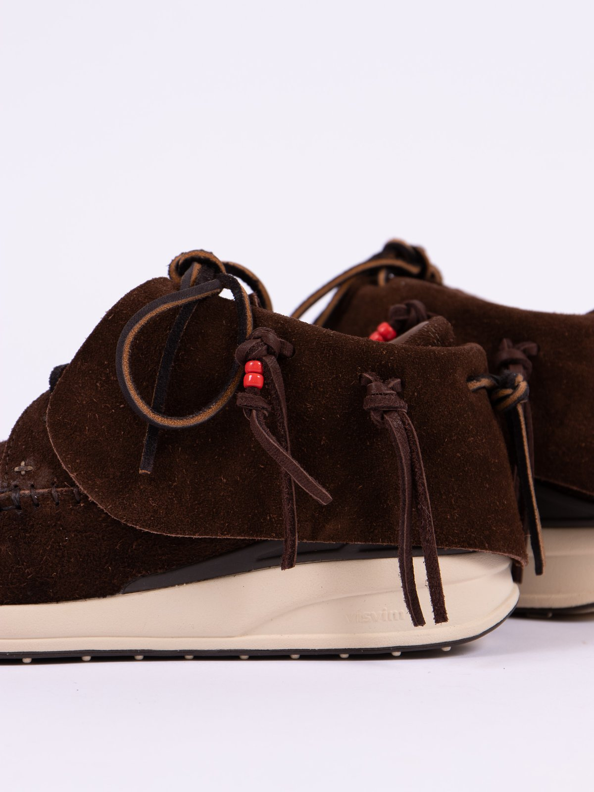 Dark Brown Veg Suede FBT - Image 4