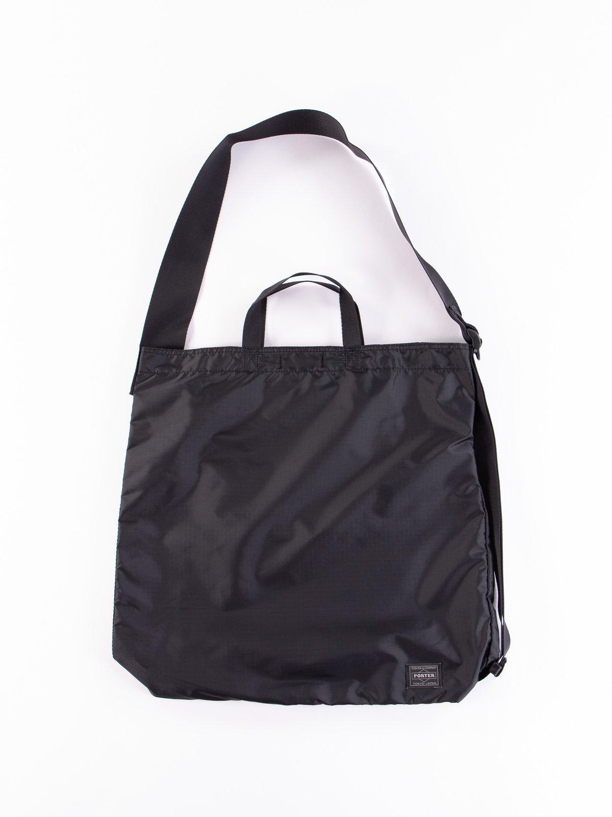Black Flex 2Way Shoulder Bag - Image 1
