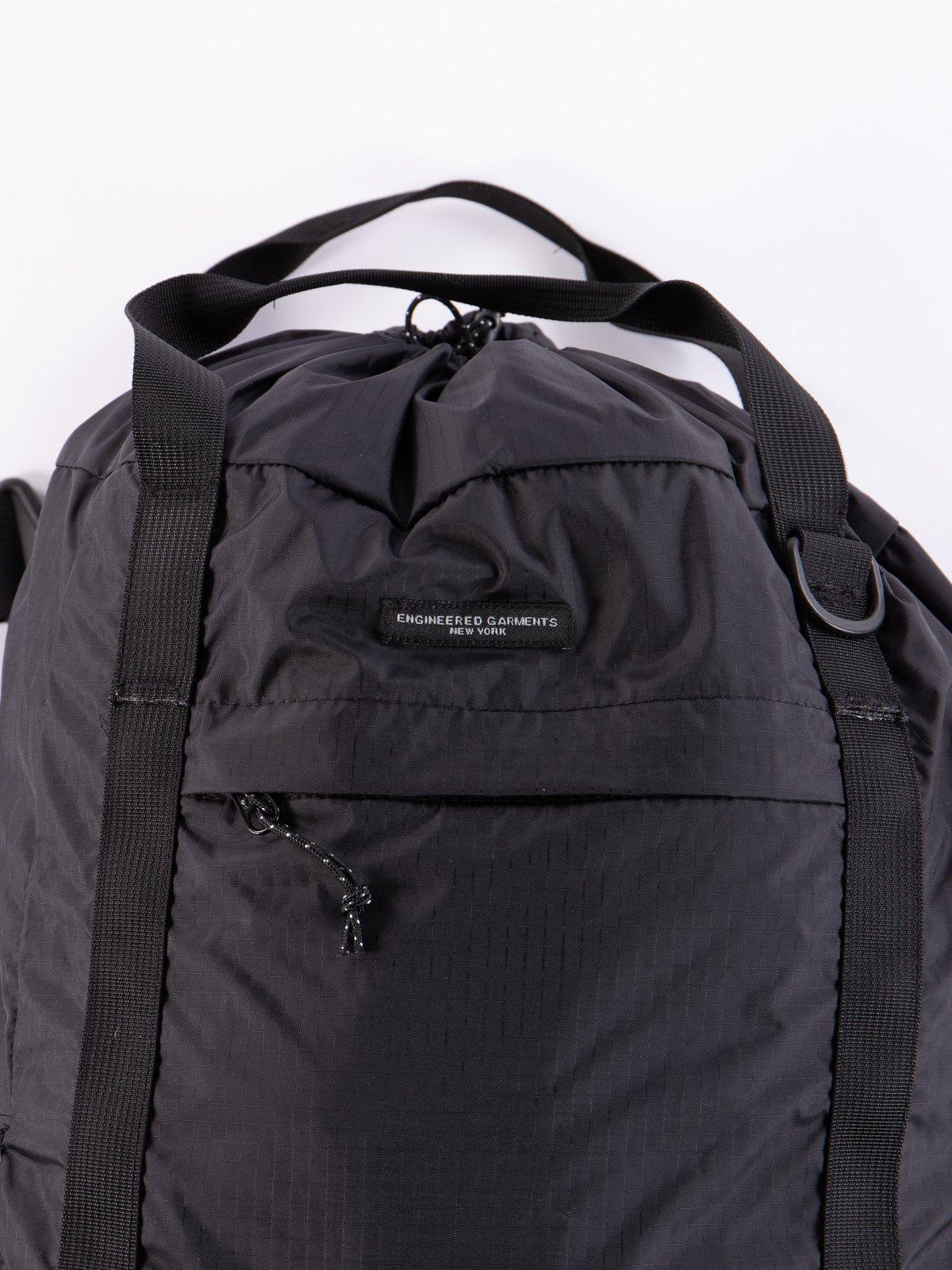 Black Nylon Ripstop UL 3 Way Bag - Image 2