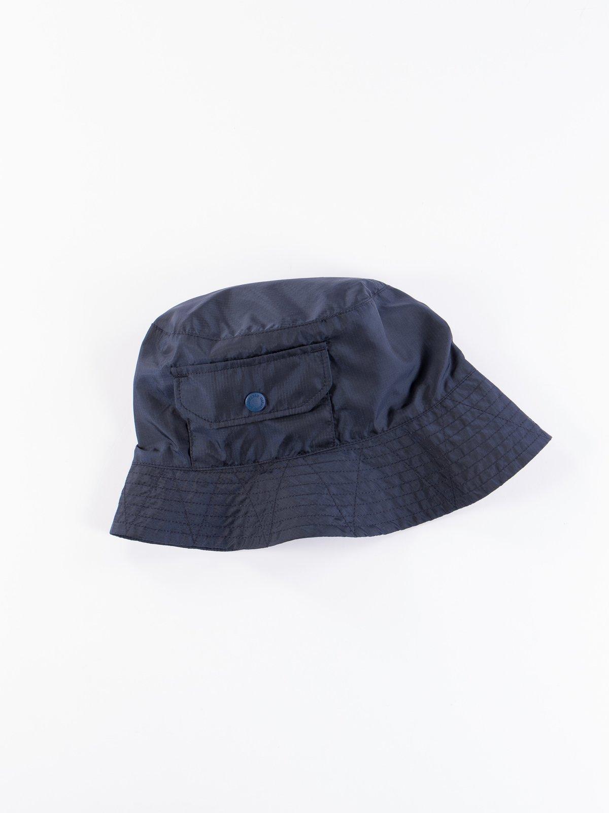 Navy Nylon Micro Ripstop Explorer Hat - Image 2