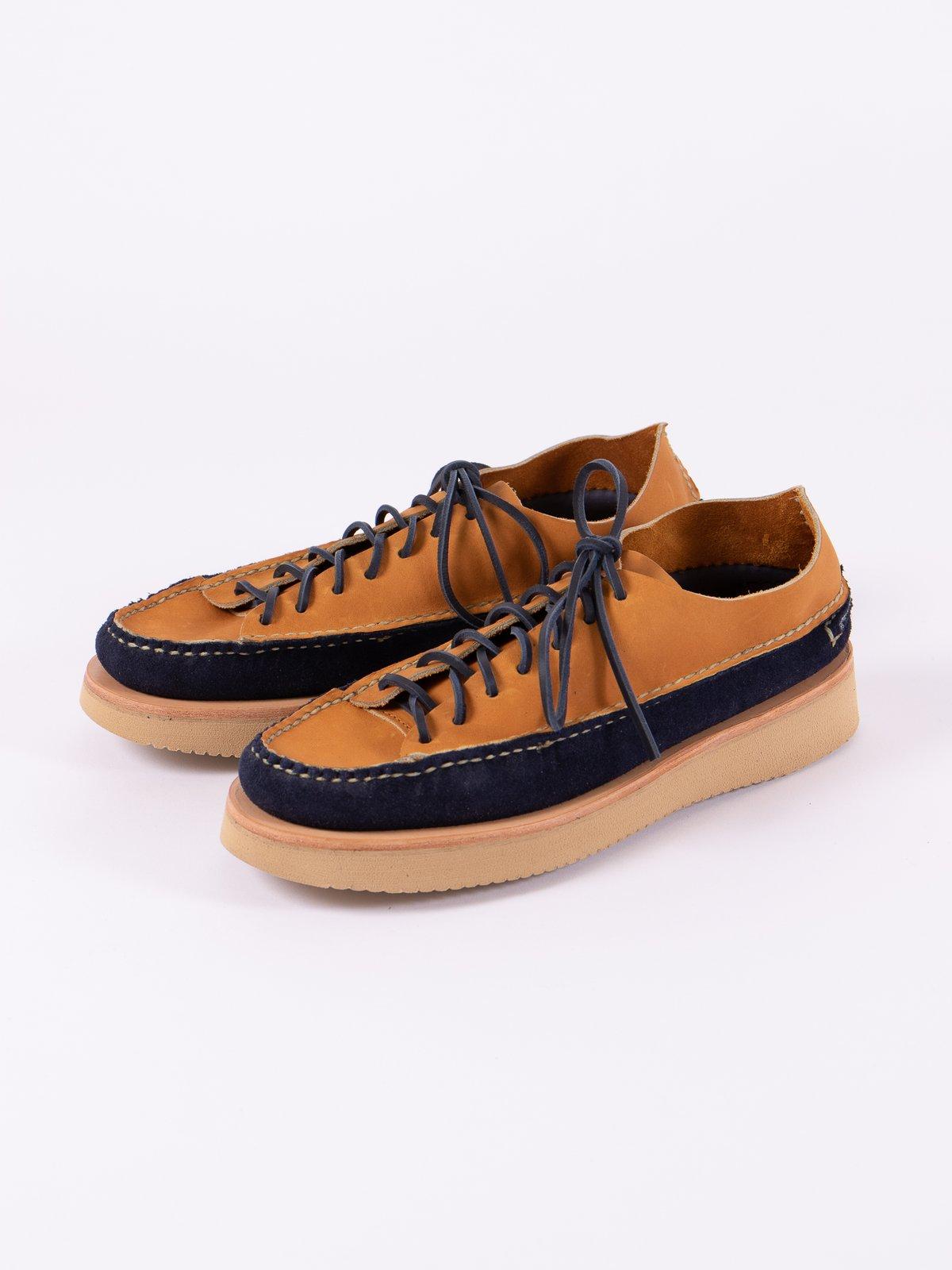 Indigo/Tan All Handsewn Sneaker Moc Ox Exclusive - Image 2