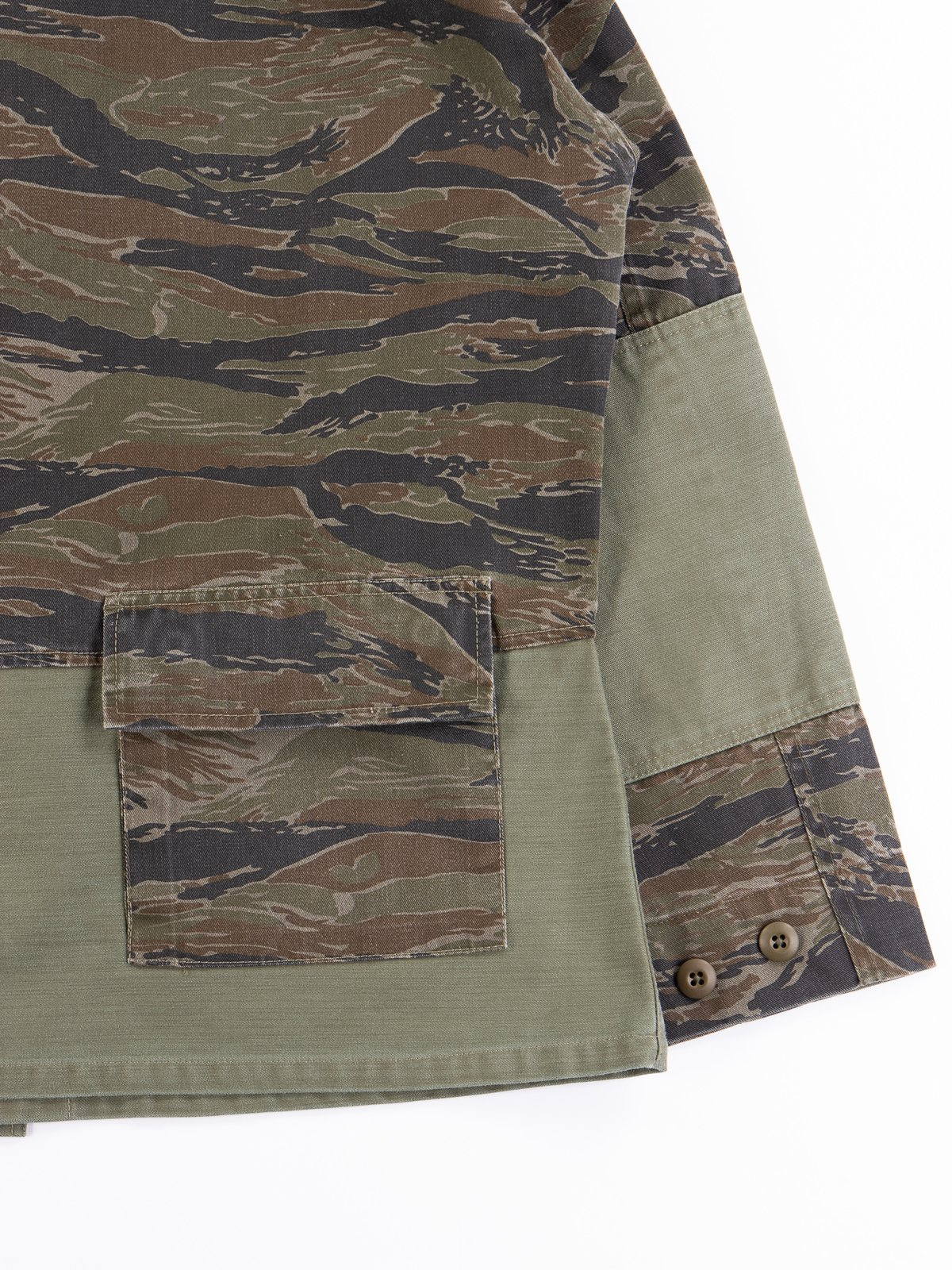 Reworks Camo/Olive Field Jacket - Image 7