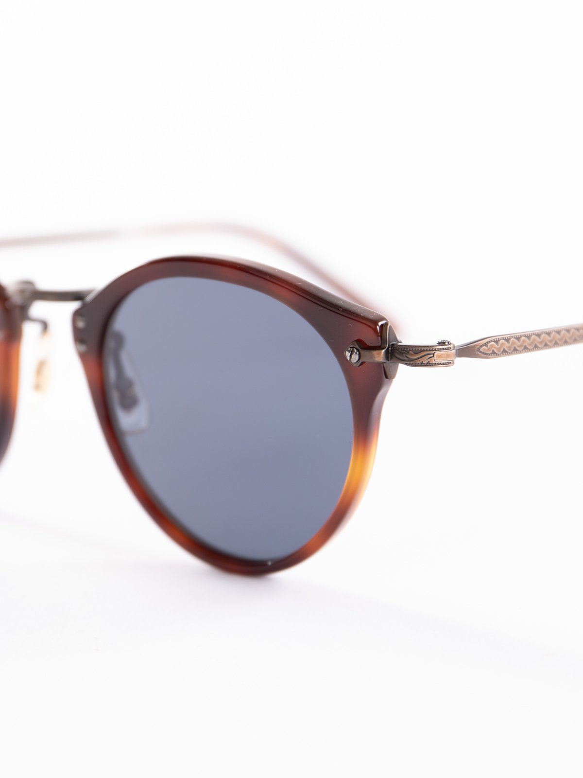 Dark Mahogany–Bronze–Blue OP–505 Sunglasses - Image 3