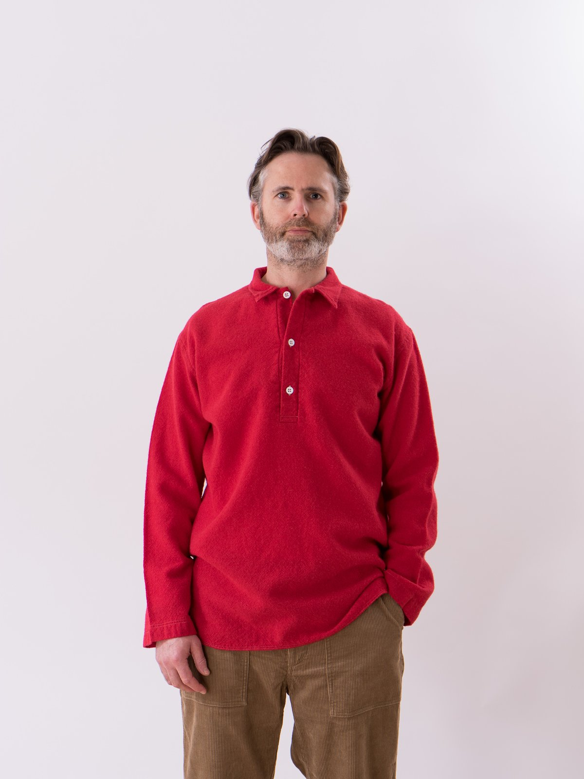 Scarlet Weavers Stock Pullover Tail Shirt - Image 2